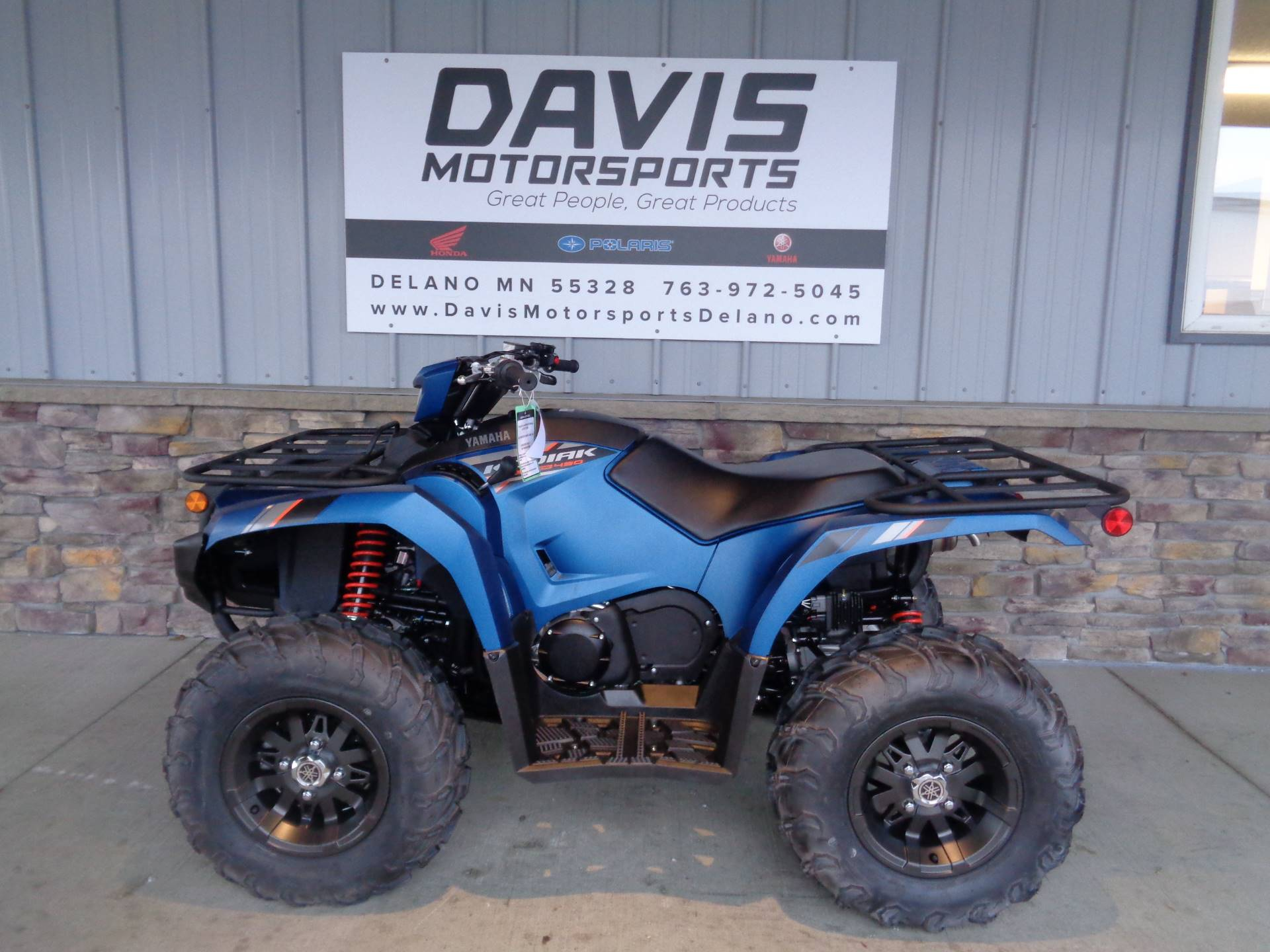 2019 Yamaha Kodiak 450 EPS SE in Delano, Minnesota - Photo 2