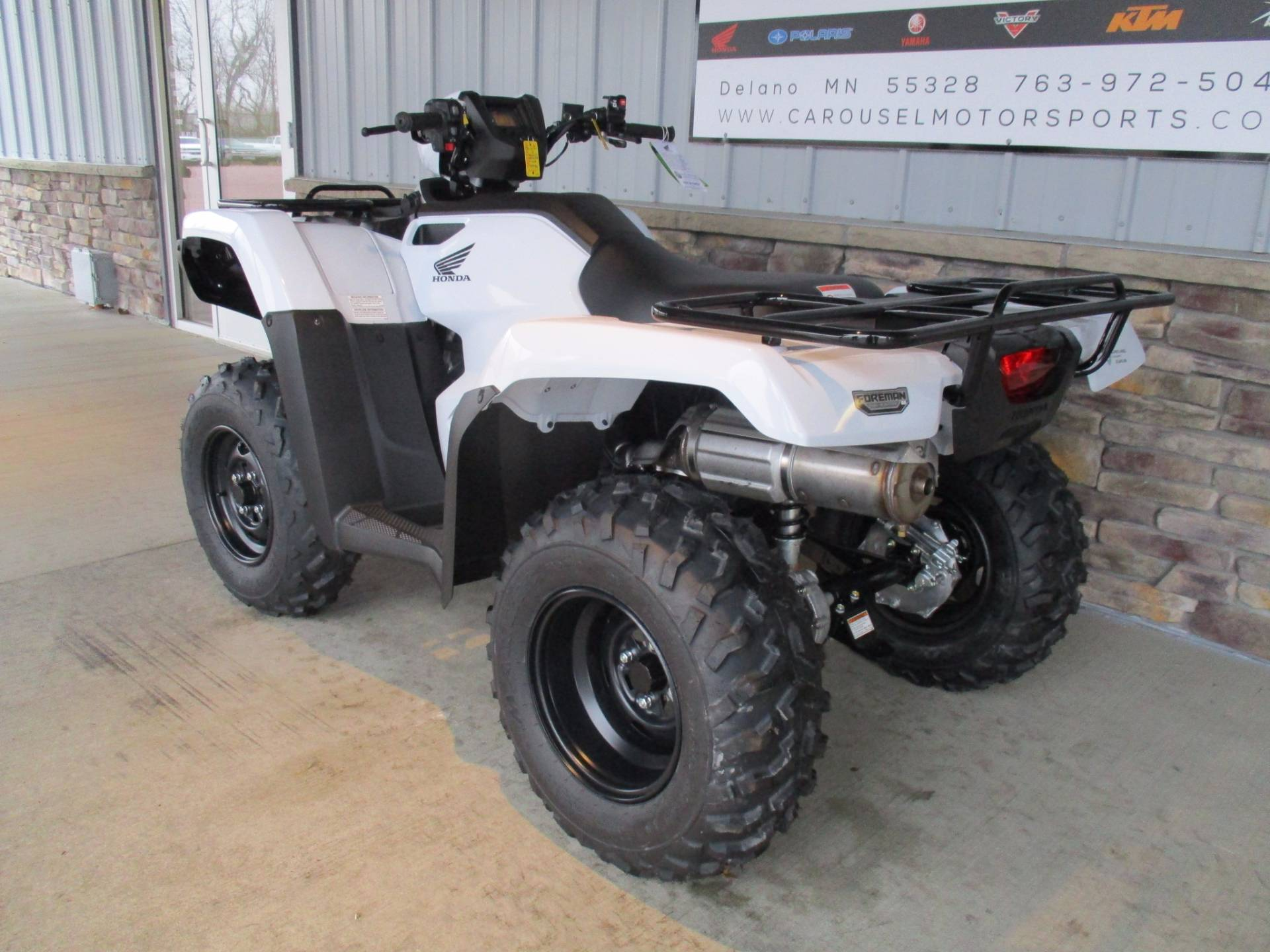 2017 Honda FourTrax Foreman 4x4 ES EPS in Delano, Minnesota