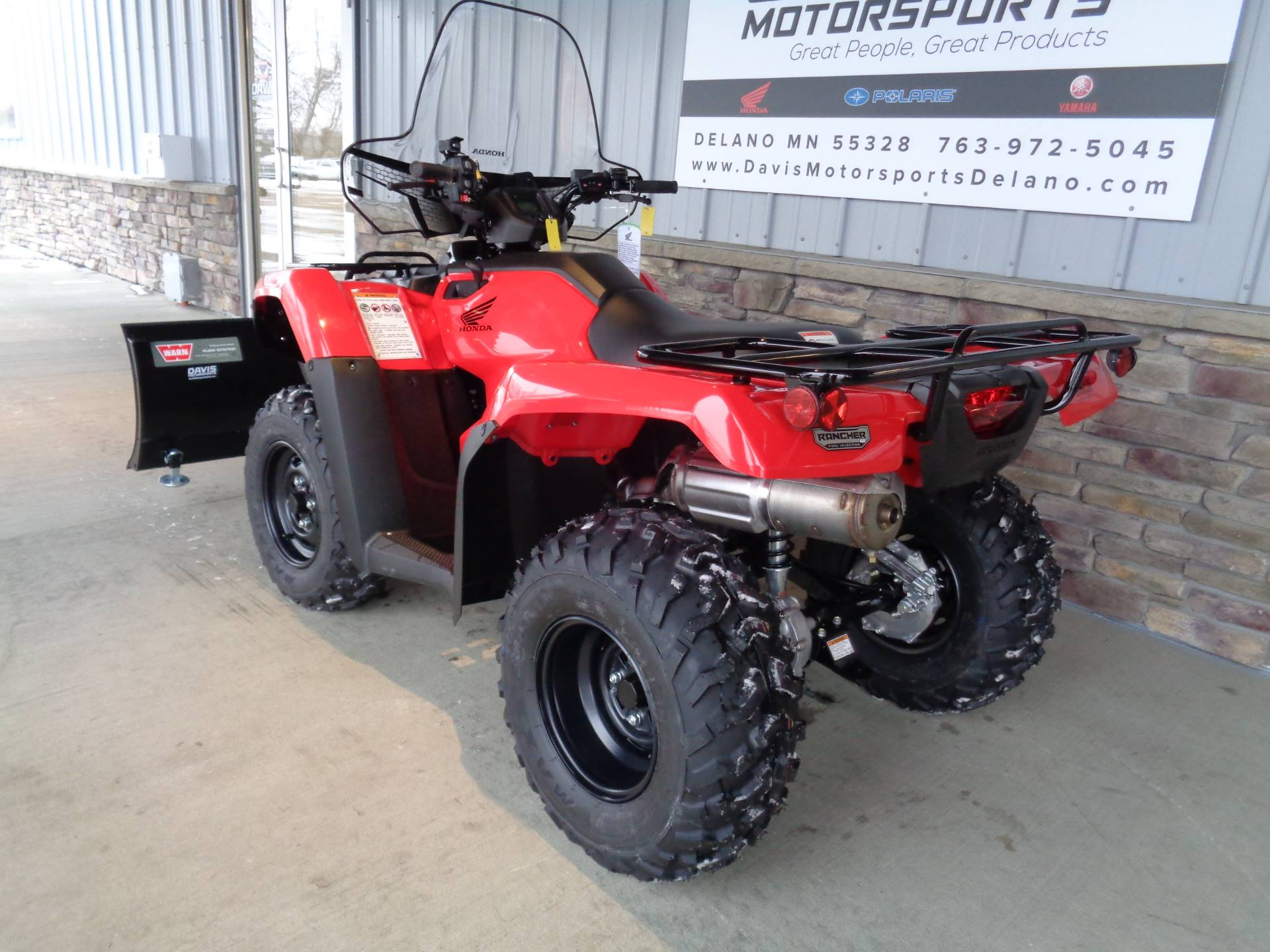 2019 Honda FourTrax Rancher 4x4 ES in Delano, Minnesota - Photo 6