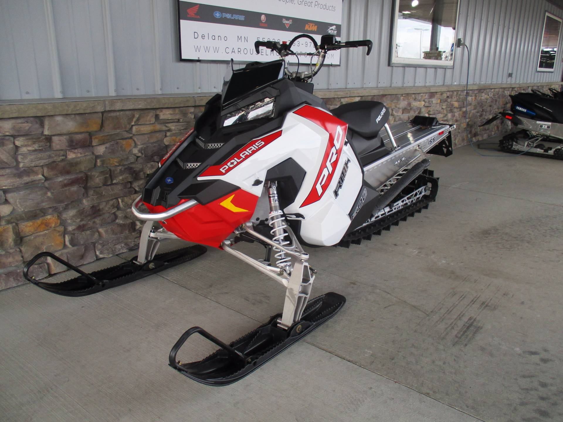 2016 Polaris 600 PRO-RMK 155 in Delano, Minnesota