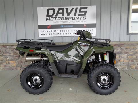 2021 Polaris Sportsman 450 H.O. EPS in Delano, Minnesota - Photo 1