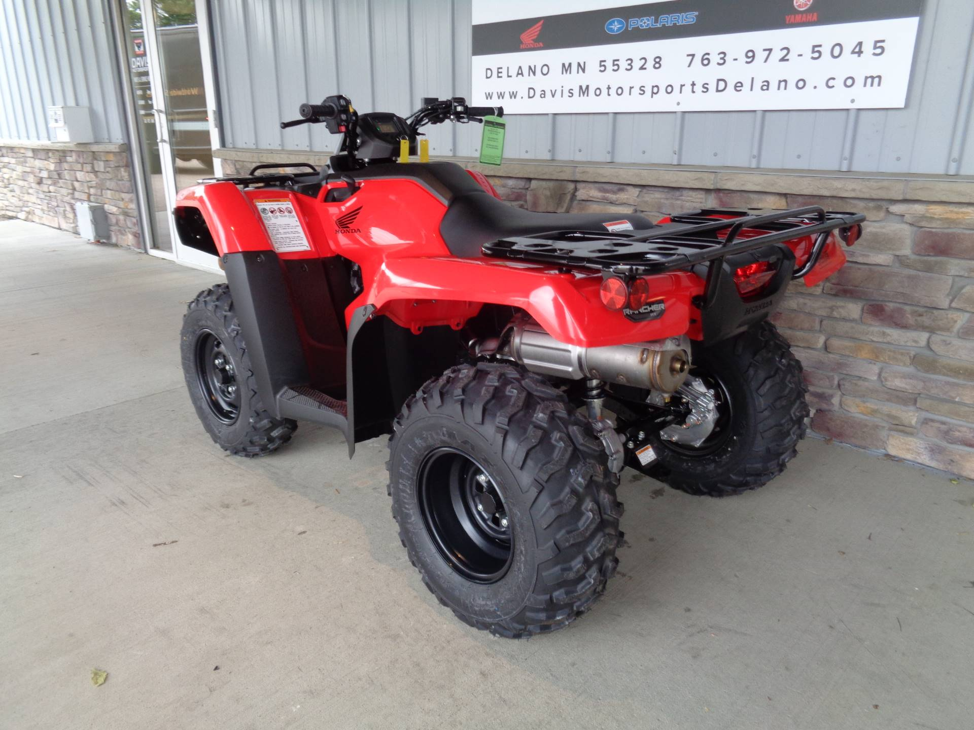 2020 Honda FourTrax Rancher 4x4 in Delano, Minnesota - Photo 7