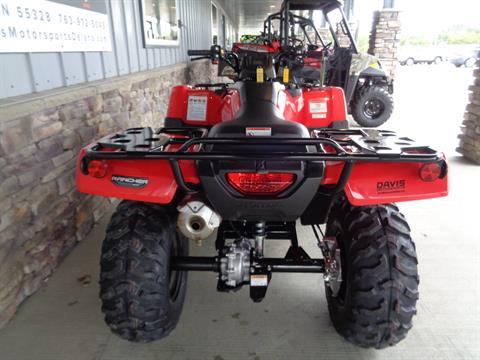 2020 Honda FourTrax Rancher 4x4 in Delano, Minnesota - Photo 8