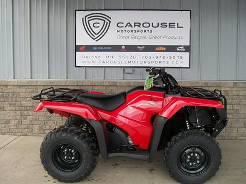 2017 Honda FourTrax Rancher 4x4 in Delano, Minnesota