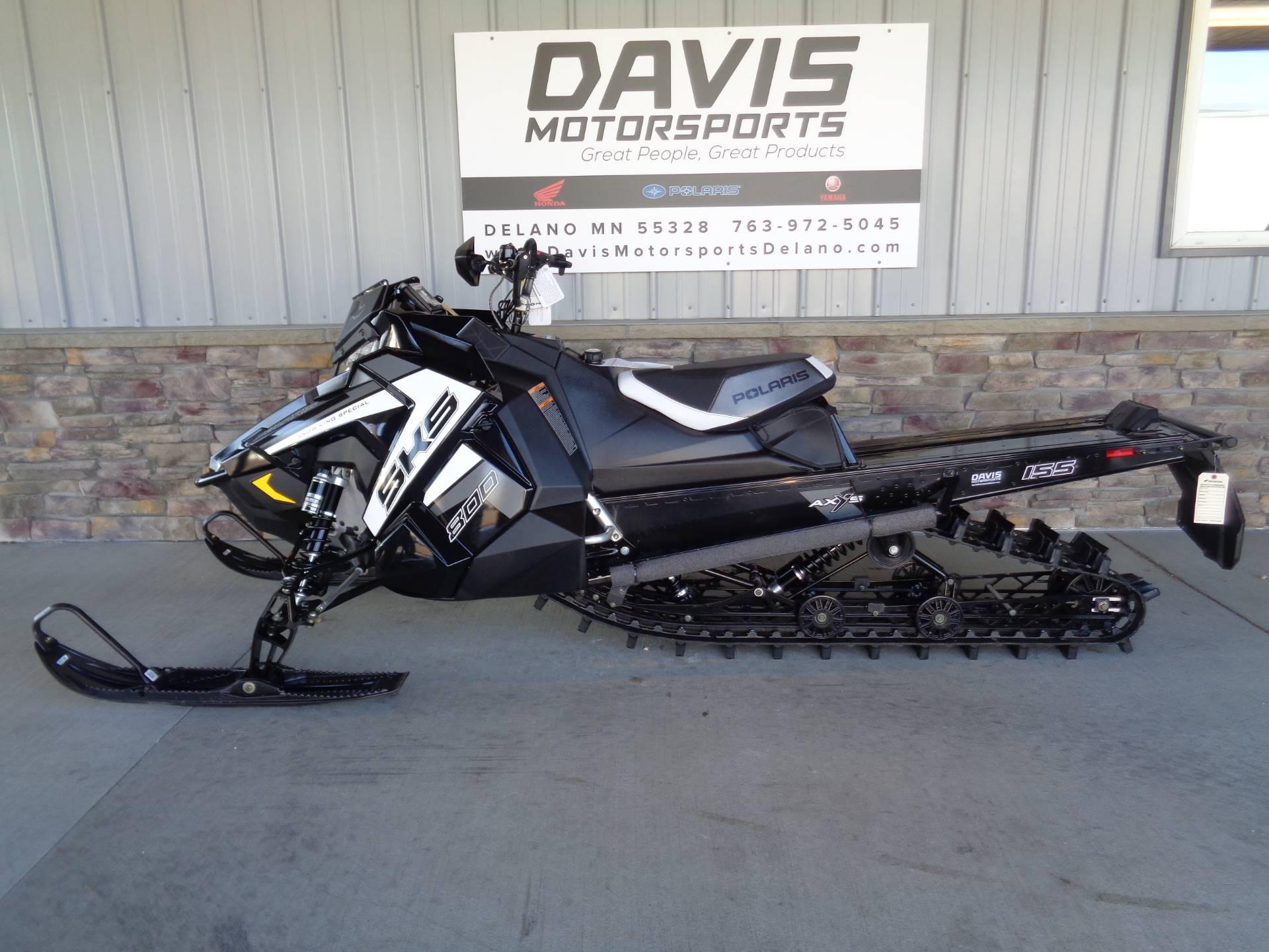 2019 Polaris 800 SKS 155 SnowCheck Select 2