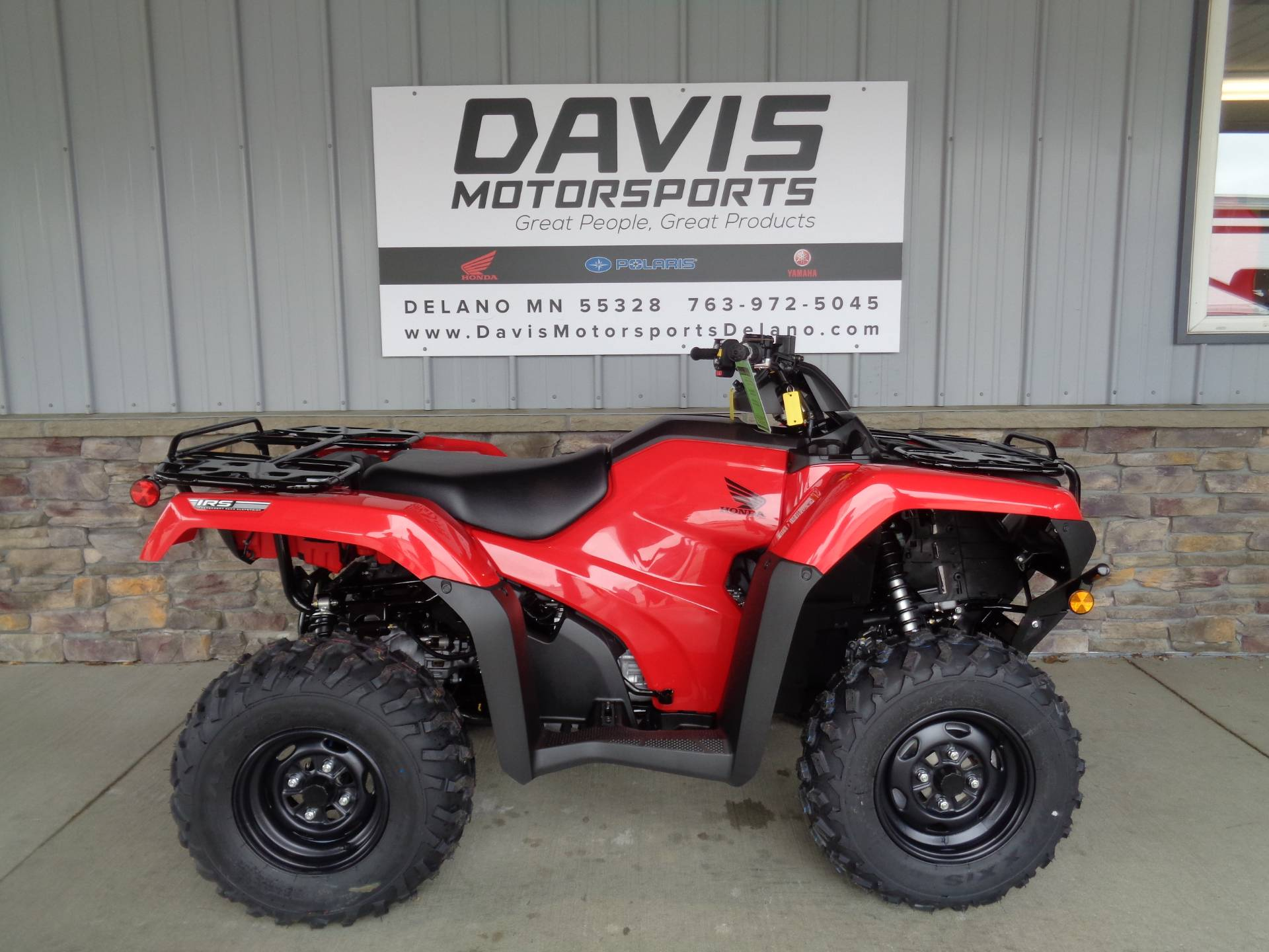 2021 Honda FourTrax Rancher 4x4 Automatic DCT IRS in Delano, Minnesota - Photo 1