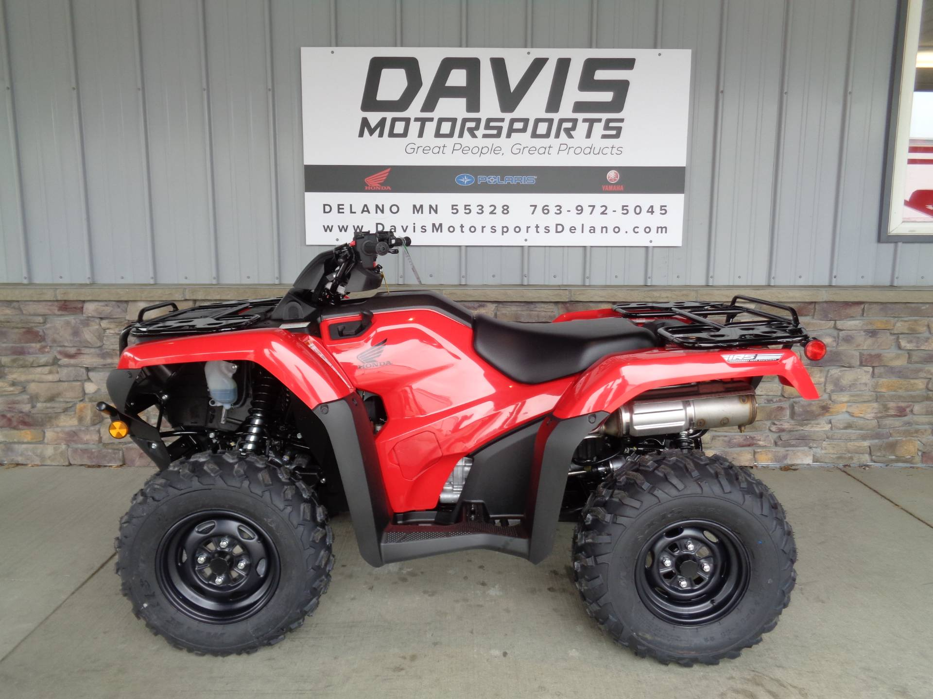 2021 Honda FourTrax Rancher 4x4 Automatic DCT IRS in Delano, Minnesota - Photo 2