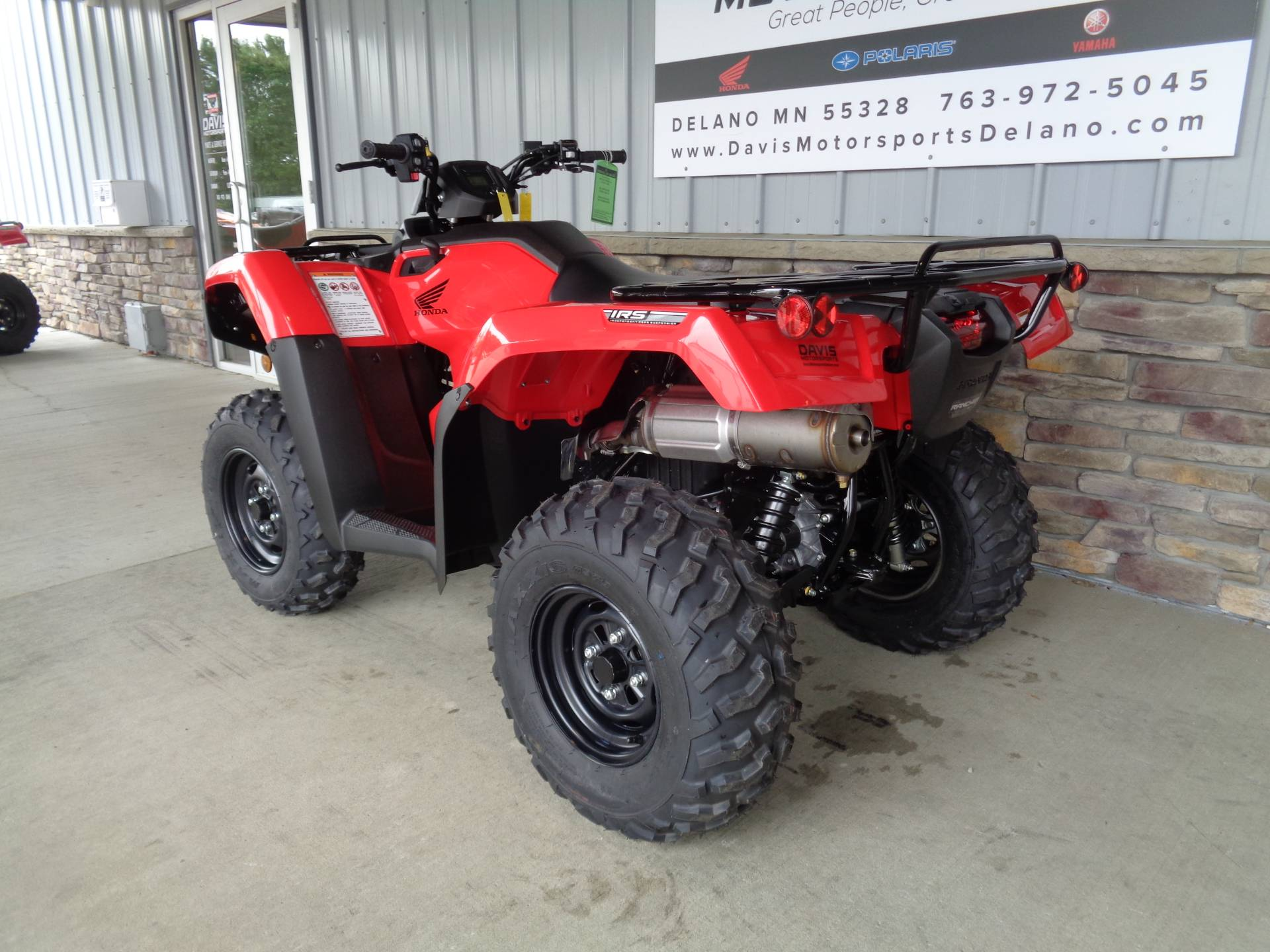 2021 Honda FourTrax Rancher 4x4 Automatic DCT IRS in Delano, Minnesota - Photo 6