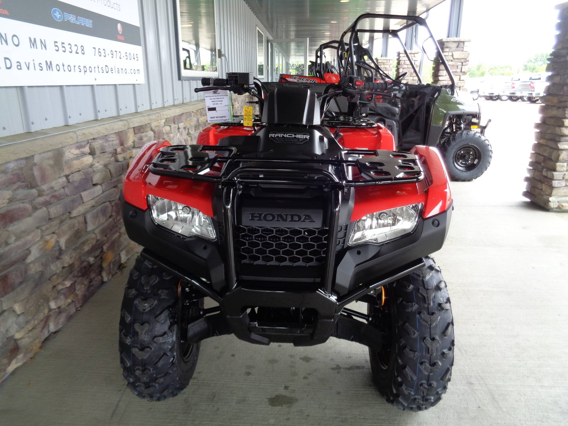 2021 Honda FourTrax Rancher 4x4 Automatic DCT IRS in Delano, Minnesota - Photo 8