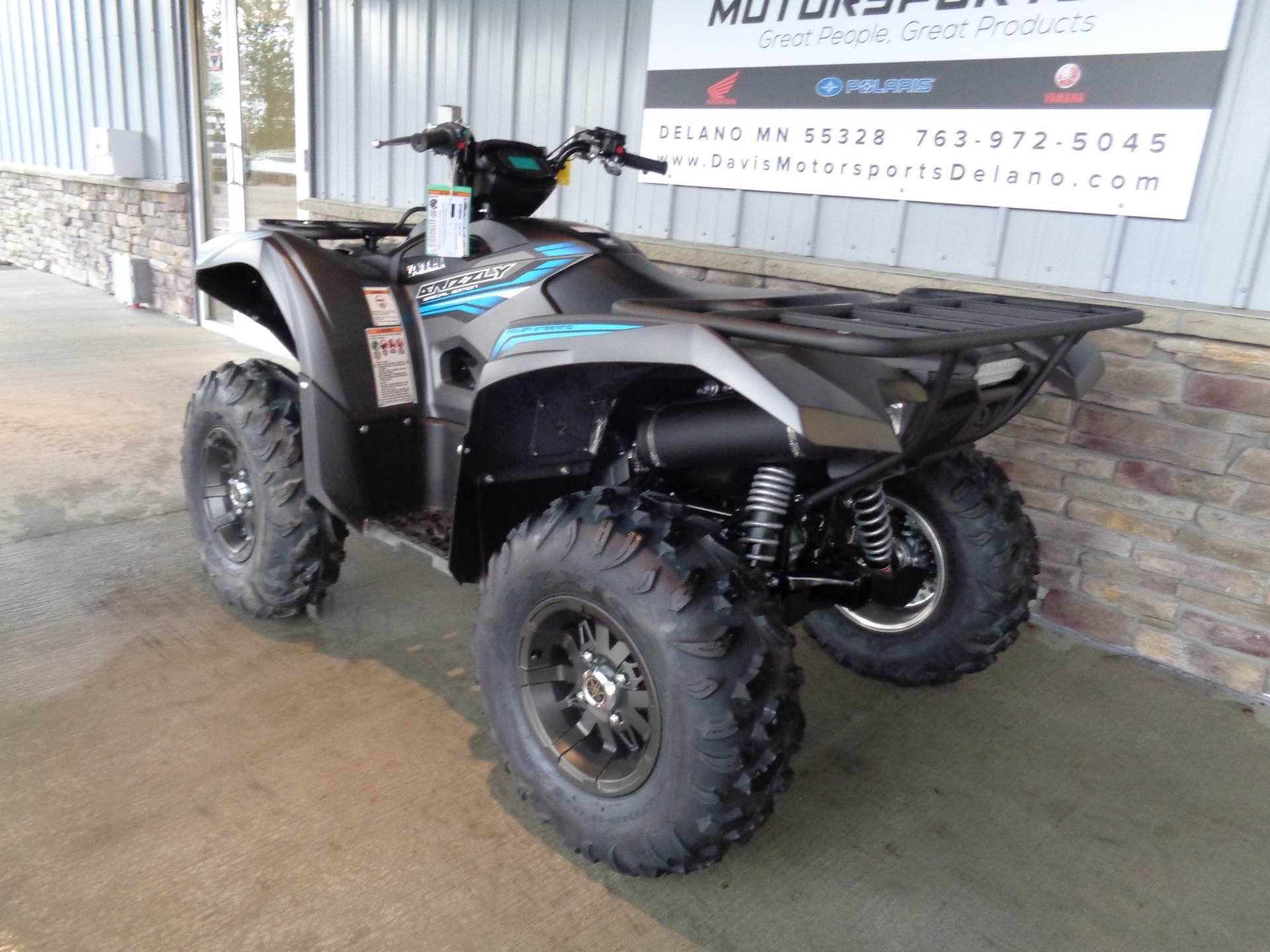2018 Yamaha Grizzly EPS SE in Delano, Minnesota