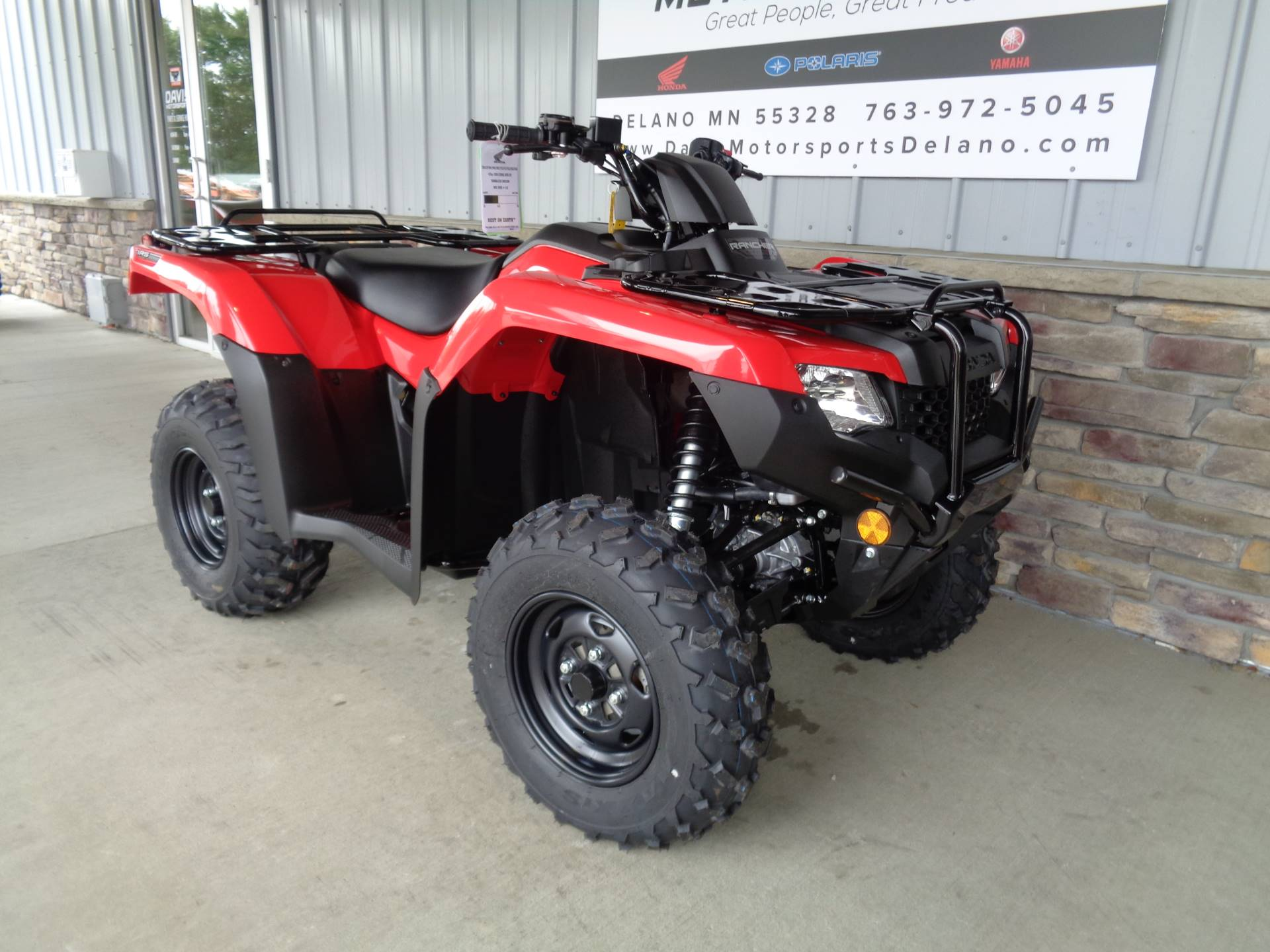 2020 Honda FourTrax Rancher 4x4 Automatic DCT IRS in Delano, Minnesota - Photo 3
