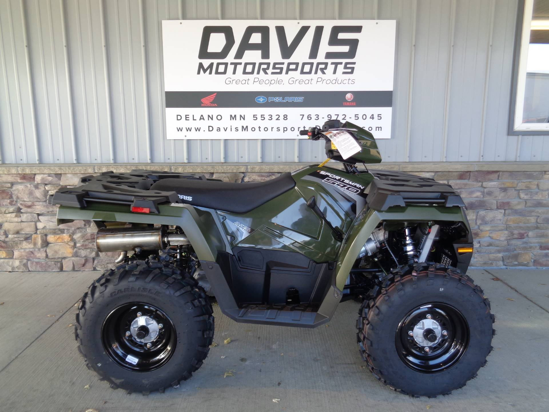 new 2019 polaris sportsman 570 atvs in delano mn n a. Black Bedroom Furniture Sets. Home Design Ideas