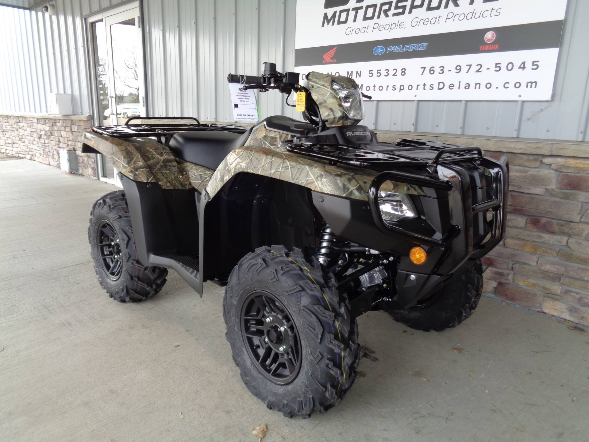 2020 Honda FourTrax Foreman Rubicon 4x4 Automatic DCT EPS Deluxe in Delano, Minnesota - Photo 3