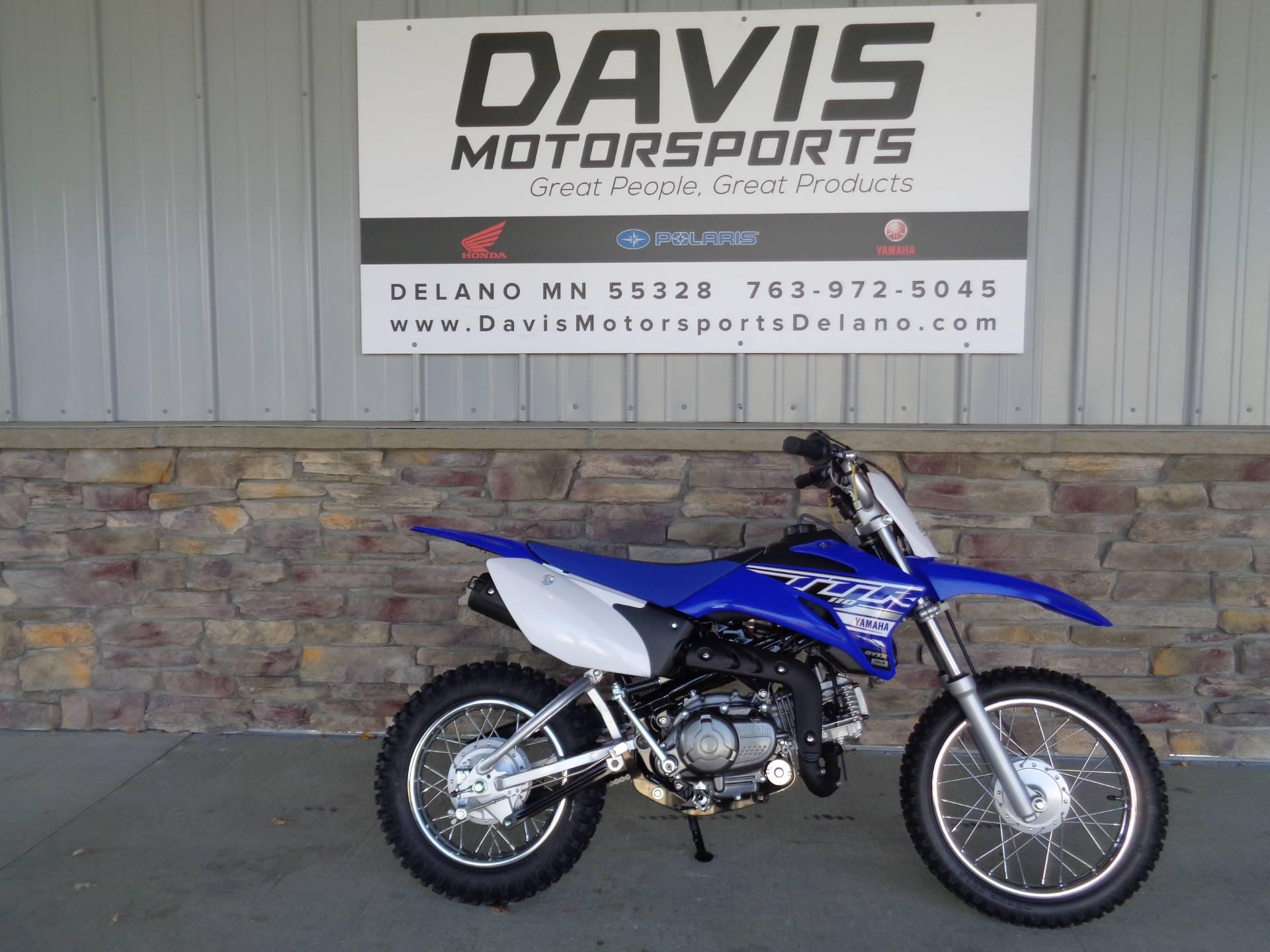 2019 Yamaha Tt R110e In Delano Minnesota Photo 1