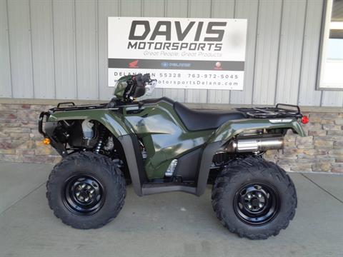 2021 Honda FourTrax Foreman Rubicon 4x4 Automatic DCT EPS in Delano, Minnesota - Photo 2