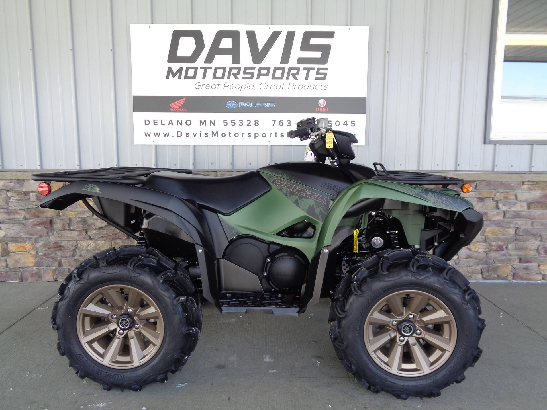 2021 Yamaha Grizzly EPS XT-R in Delano, Minnesota - Photo 1