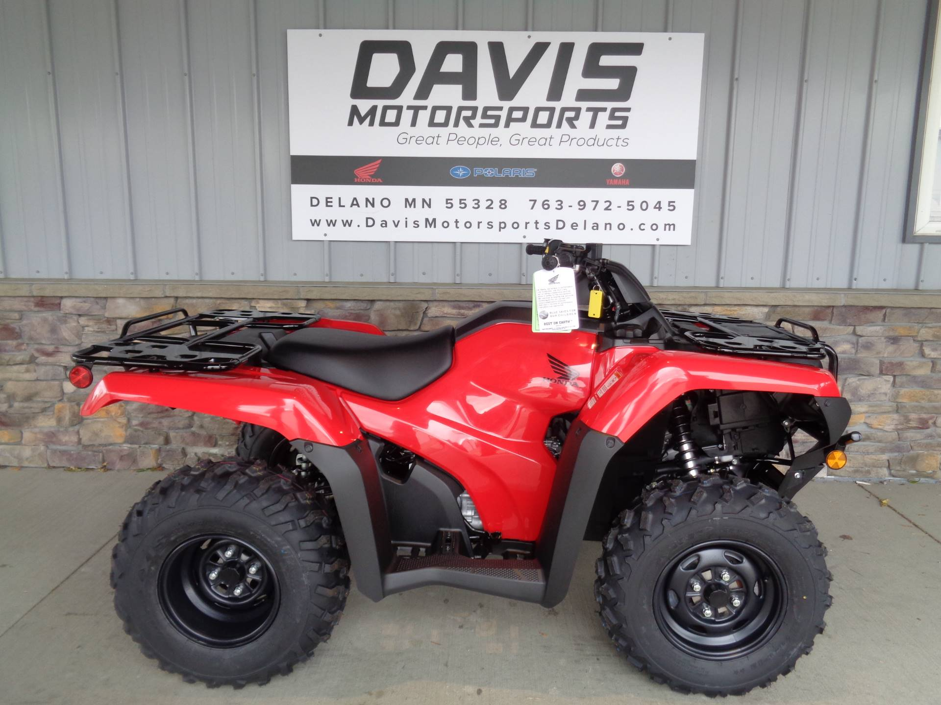2020 Honda FourTrax Rancher 4x4 Automatic DCT EPS in Delano, Minnesota - Photo 1