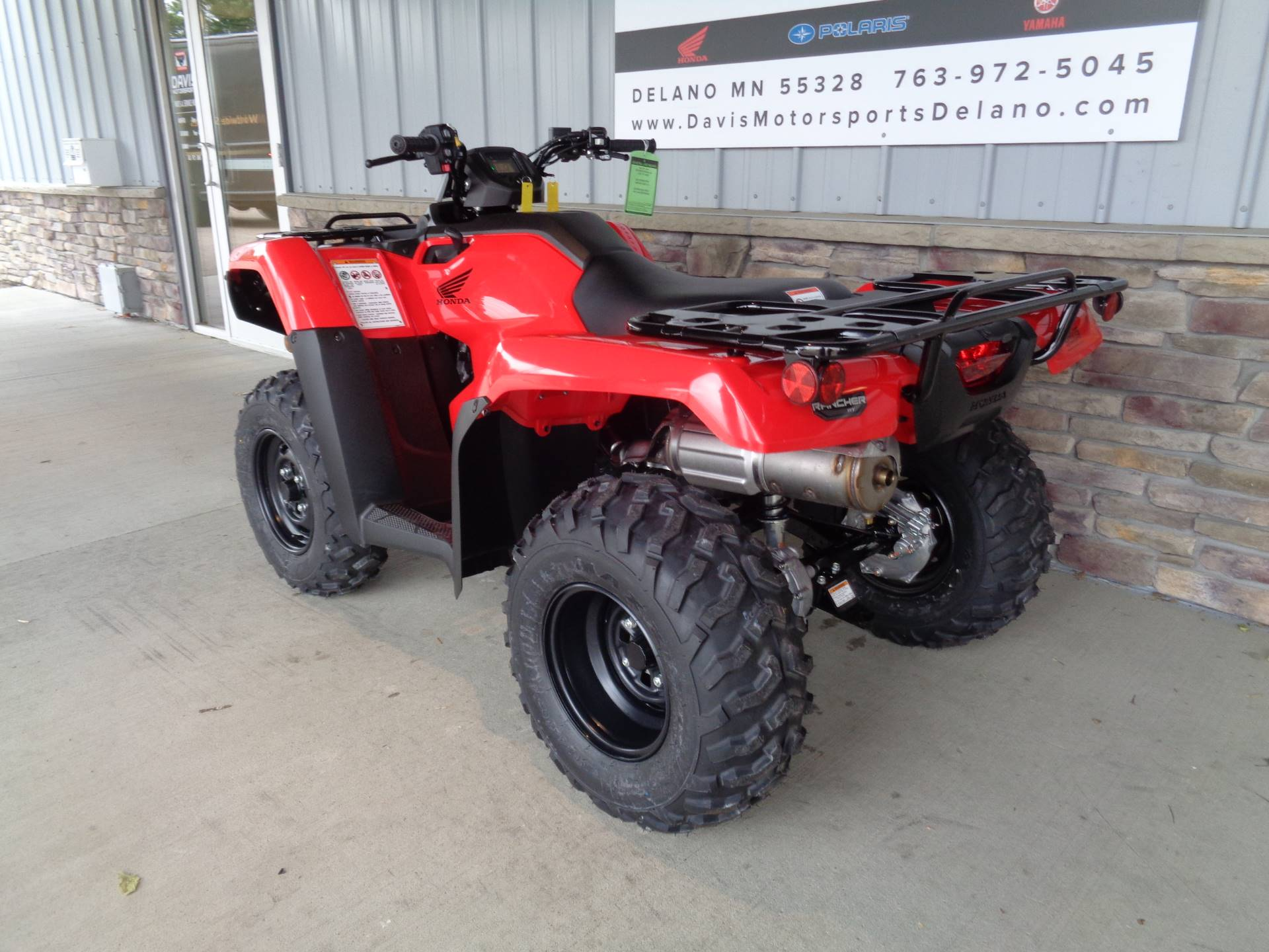 2020 Honda FourTrax Rancher 4x4 Automatic DCT EPS in Delano, Minnesota - Photo 6
