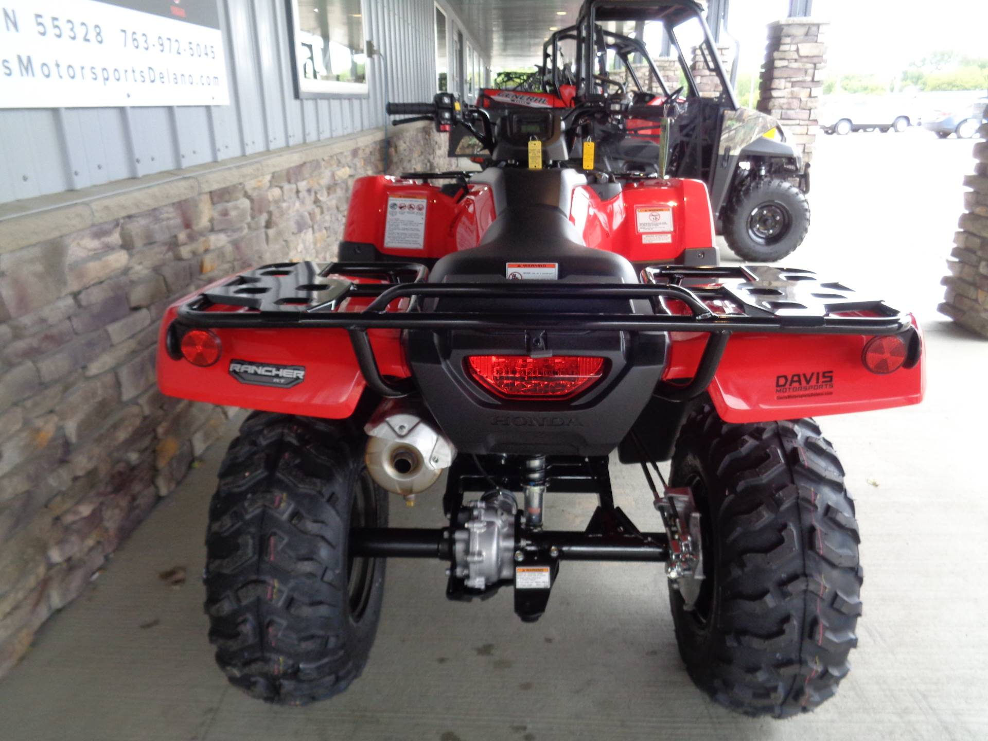 2020 Honda FourTrax Rancher 4x4 Automatic DCT EPS in Delano, Minnesota - Photo 8