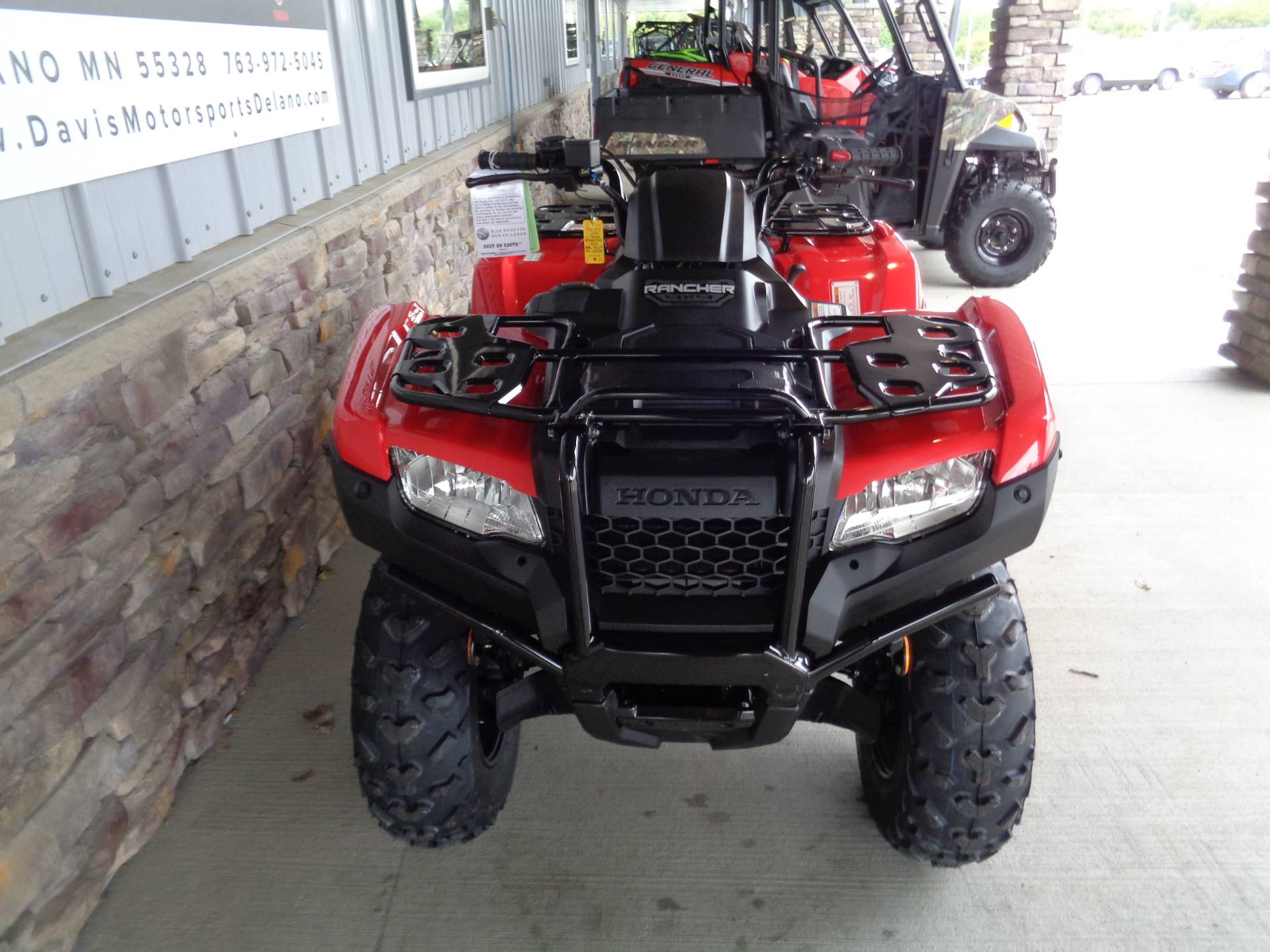 2020 Honda FourTrax Rancher 4x4 Automatic DCT EPS in Delano, Minnesota - Photo 9