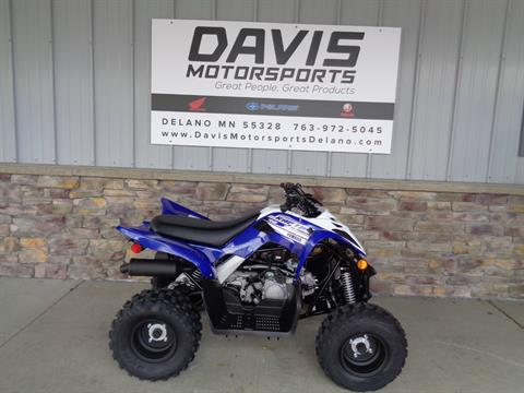 2019 Yamaha Raptor 90 in Delano, Minnesota