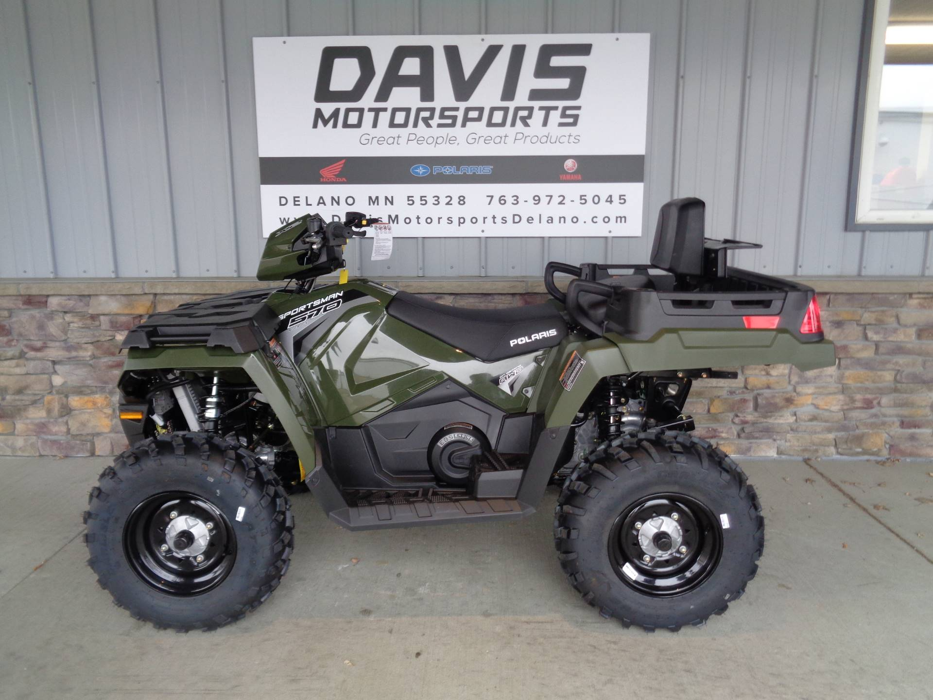 2019 Polaris Sportsman X2 570 in Delano, Minnesota