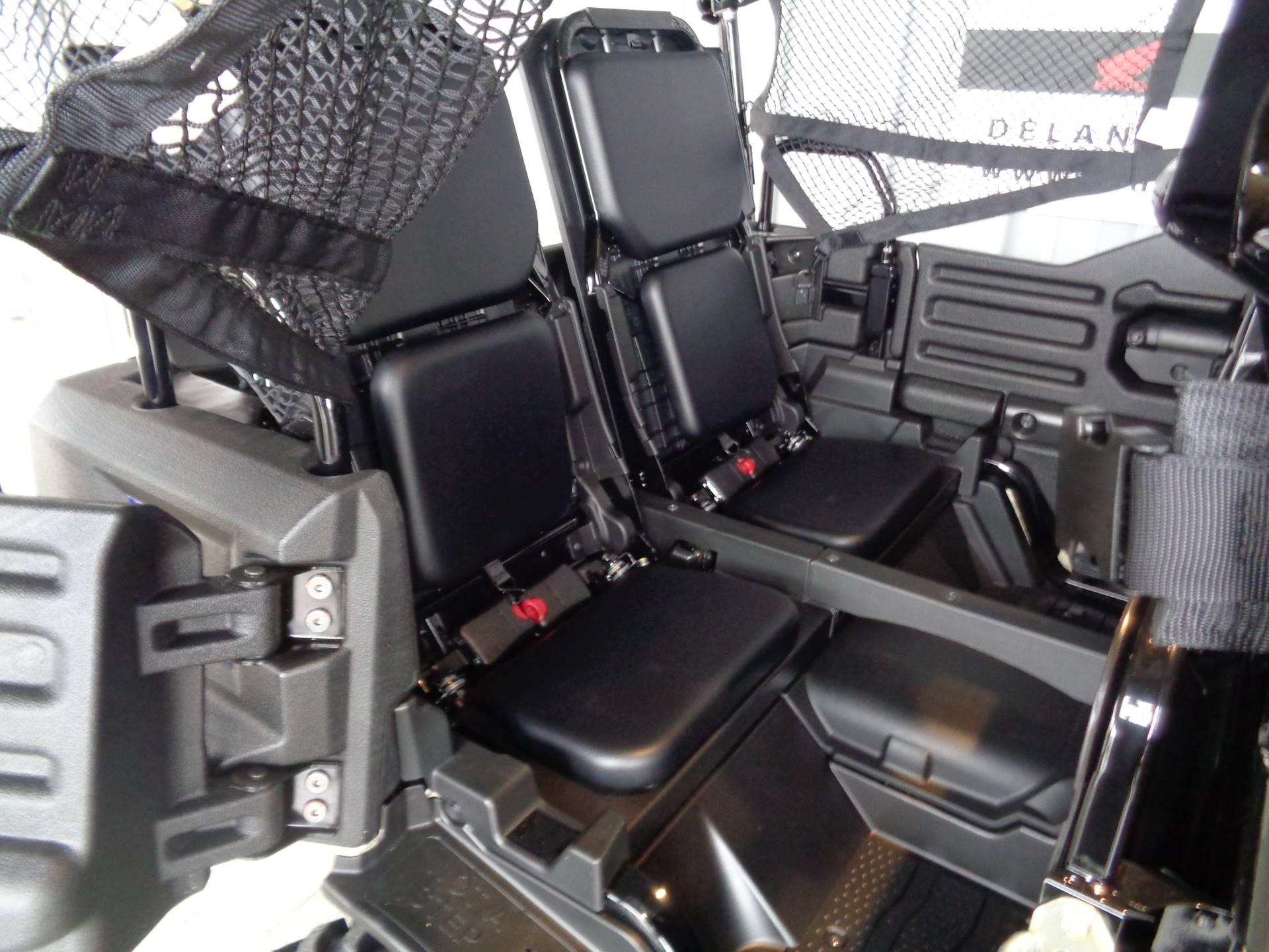 2019 Honda Pioneer 700-4 Deluxe 9