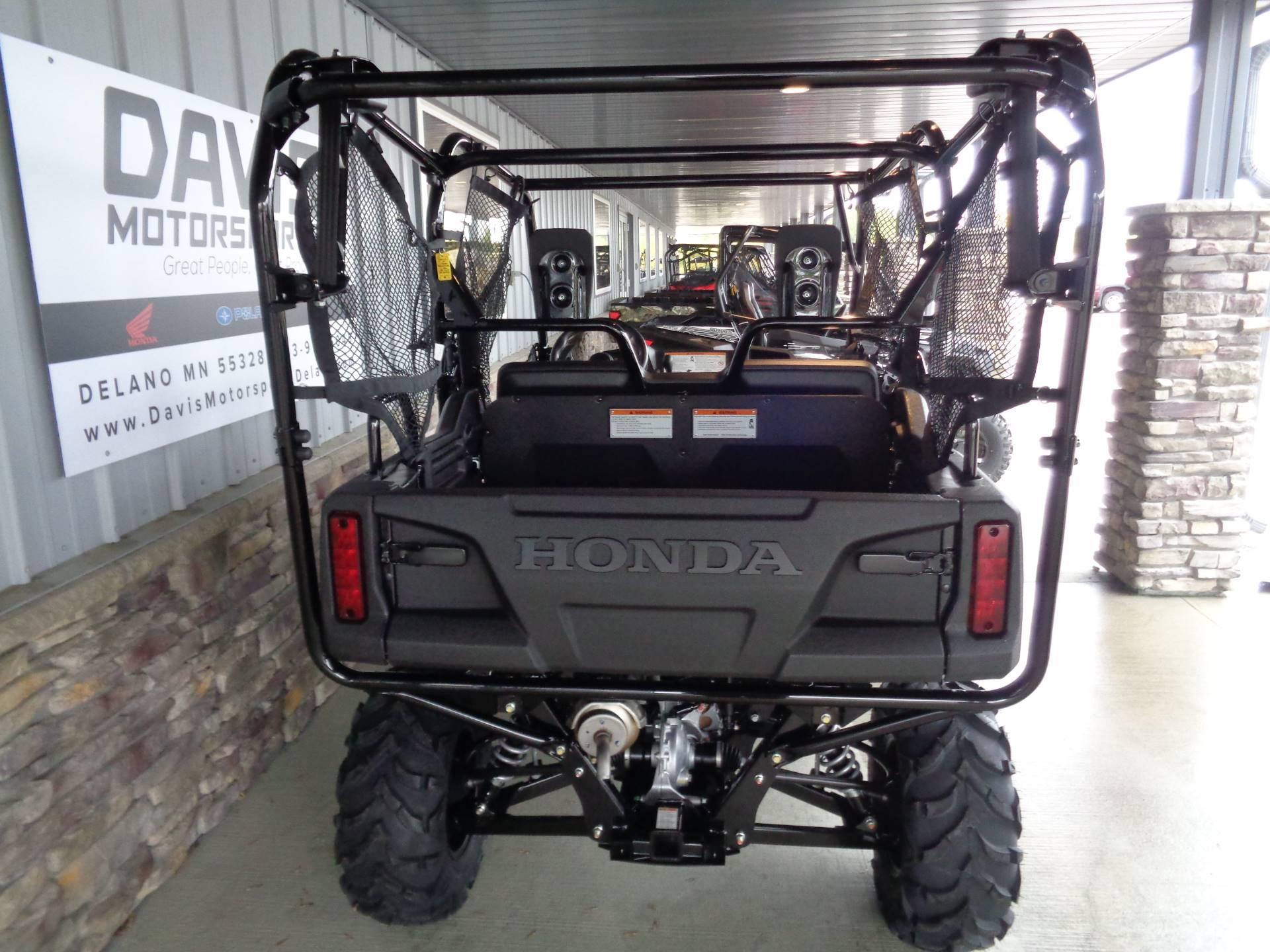 2019 Honda Pioneer 700-4 Deluxe 10