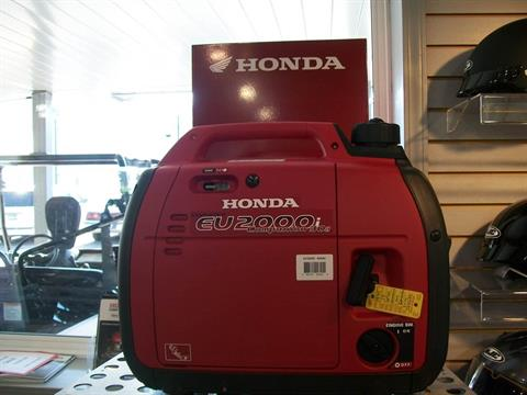 2017 Honda Power Equipment EU2000i Companion in Delano, Minnesota