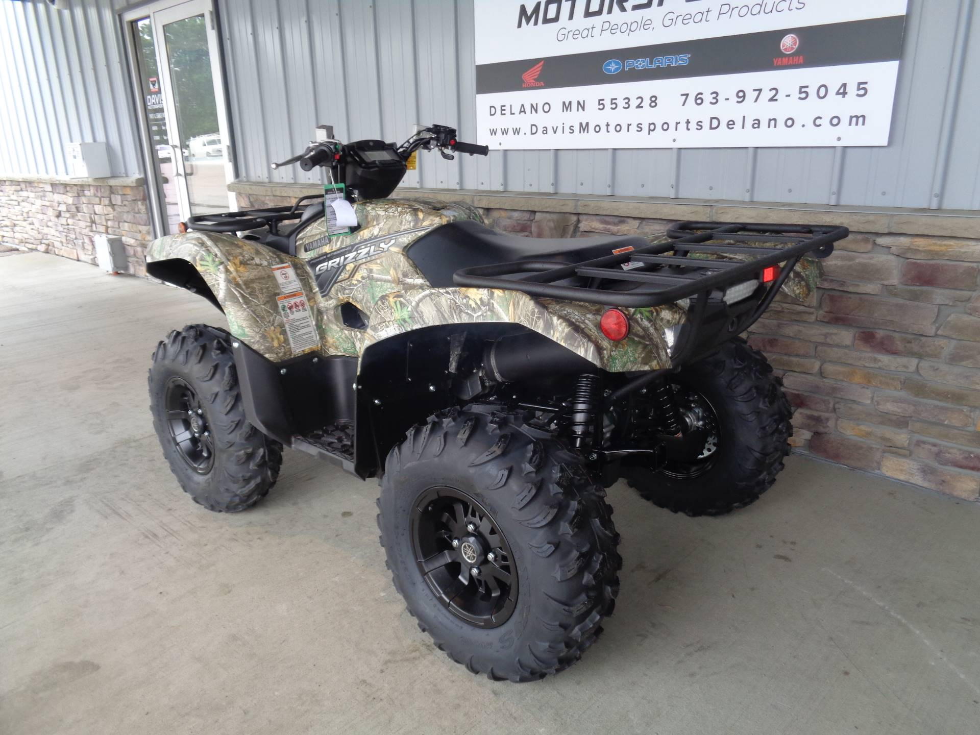 2019 Yamaha Grizzly EPS in Delano, Minnesota