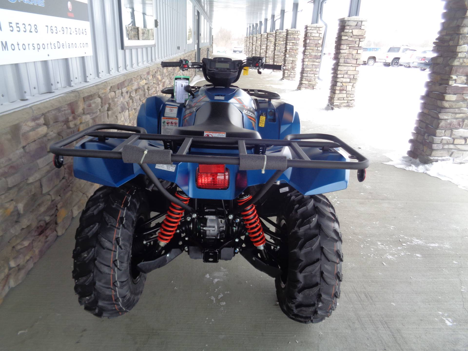 2019 Yamaha Kodiak 700 EPS SE in Delano, Minnesota - Photo 8
