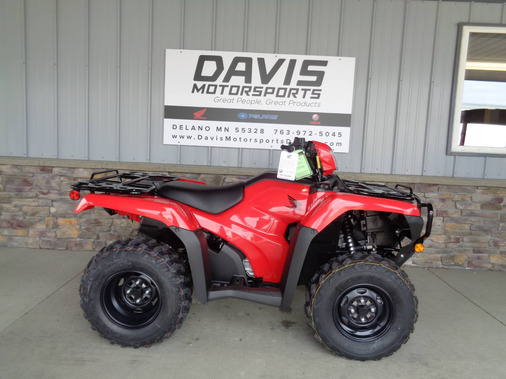 2020 Honda FourTrax Foreman 4x4 ES EPS in Delano, Minnesota - Photo 1