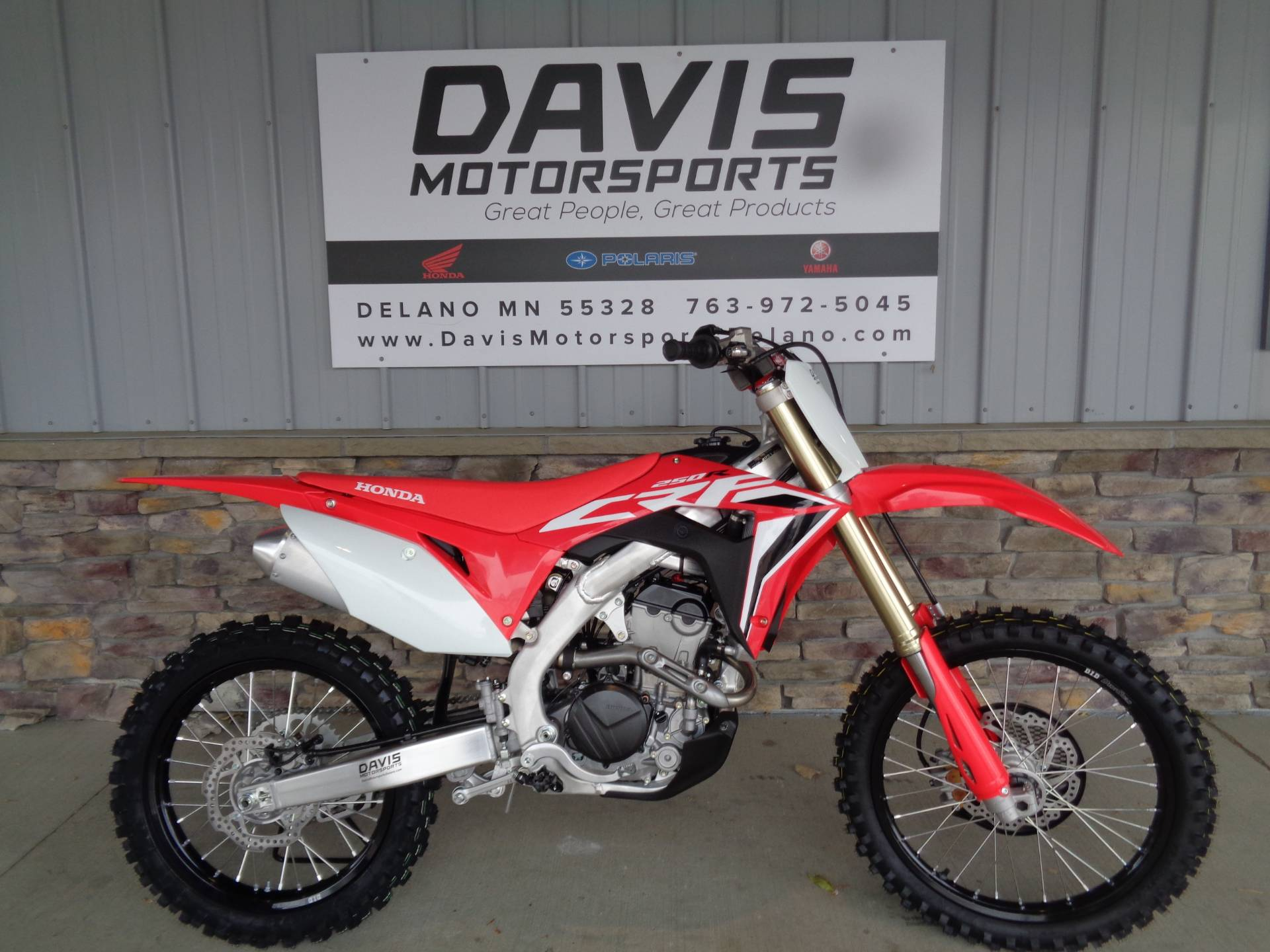 2021 Honda CRF250R in Delano, Minnesota - Photo 1