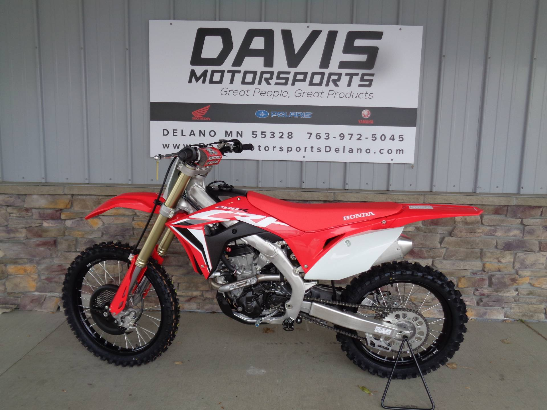 2021 Honda CRF250R in Delano, Minnesota - Photo 2
