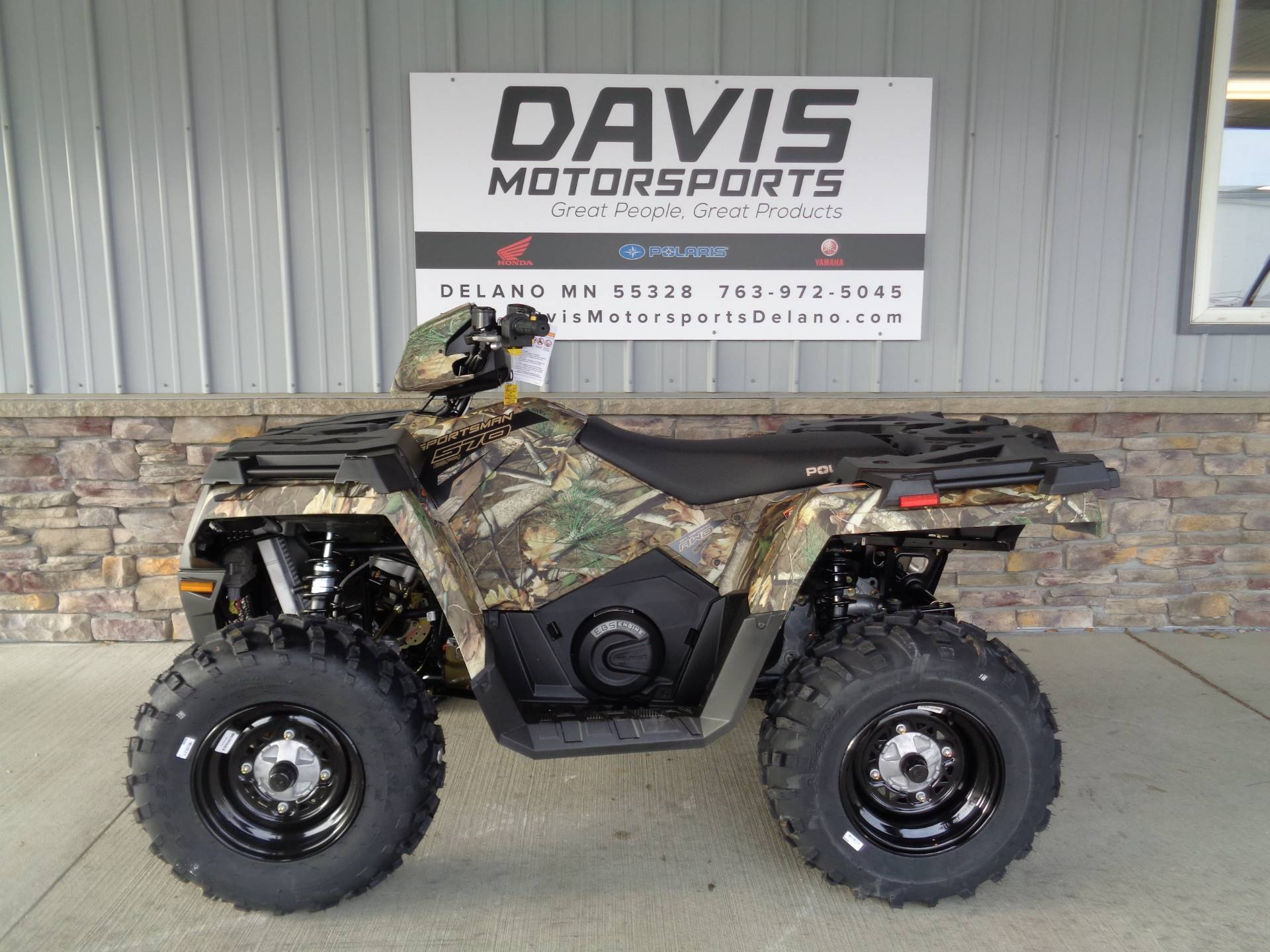 2019 Polaris Sportsman 570 EPS Camo in Delano, Minnesota - Photo 2
