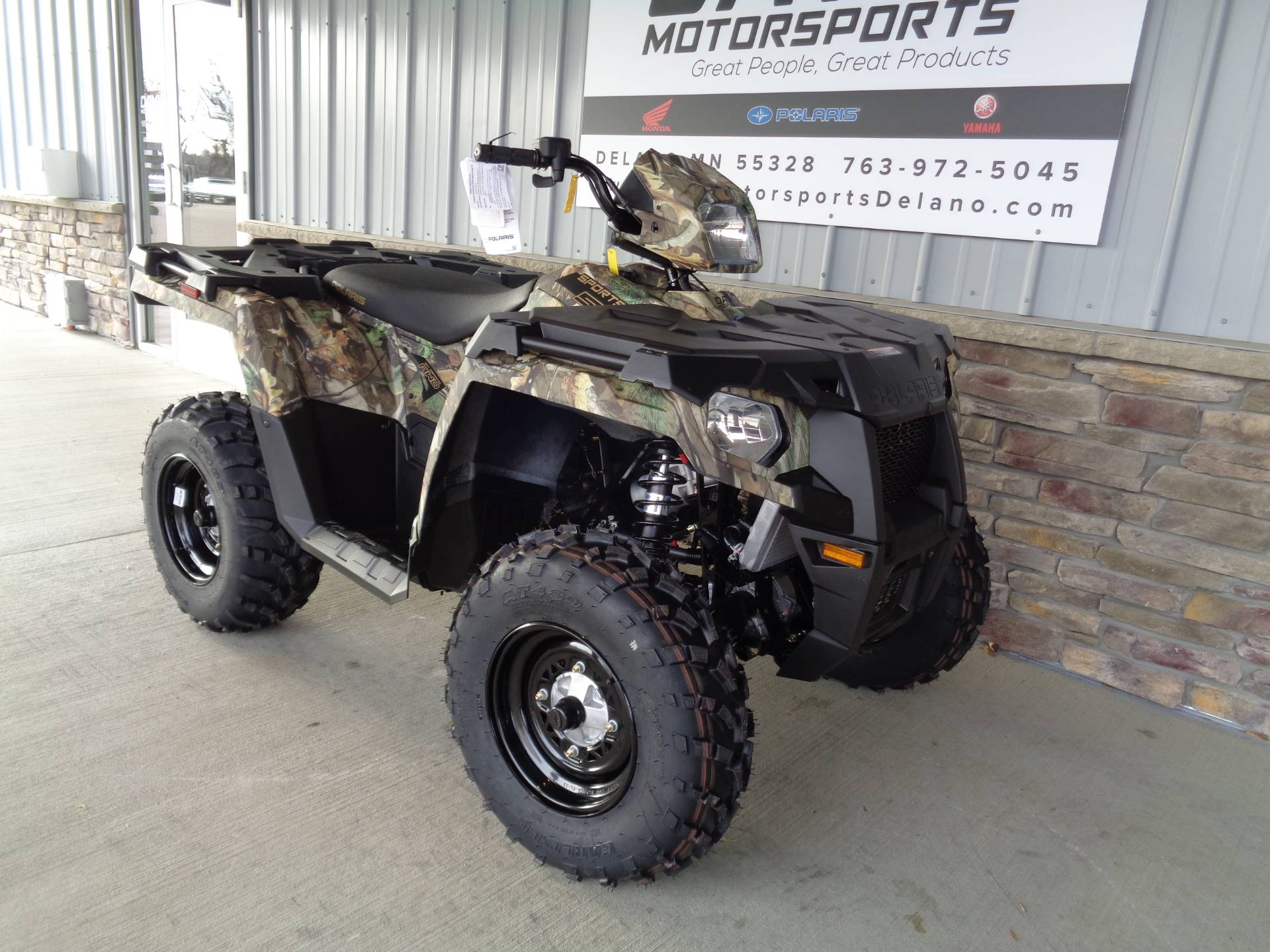 2019 Polaris Sportsman 570 EPS Camo in Delano, Minnesota - Photo 3