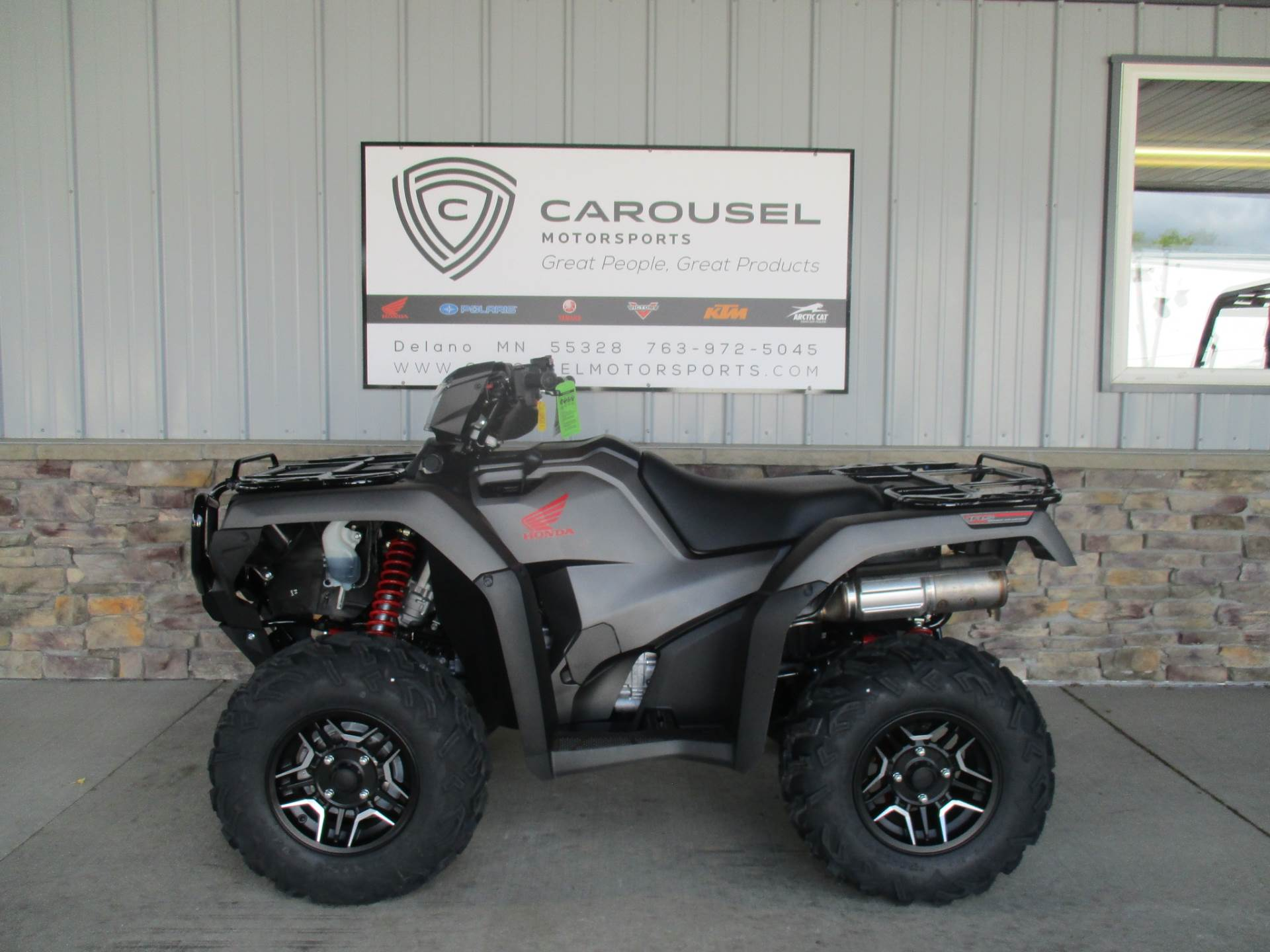 2018 Honda FourTrax Foreman Rubicon 4x4 Automatic DCT EPS Deluxe in Delano, Minnesota