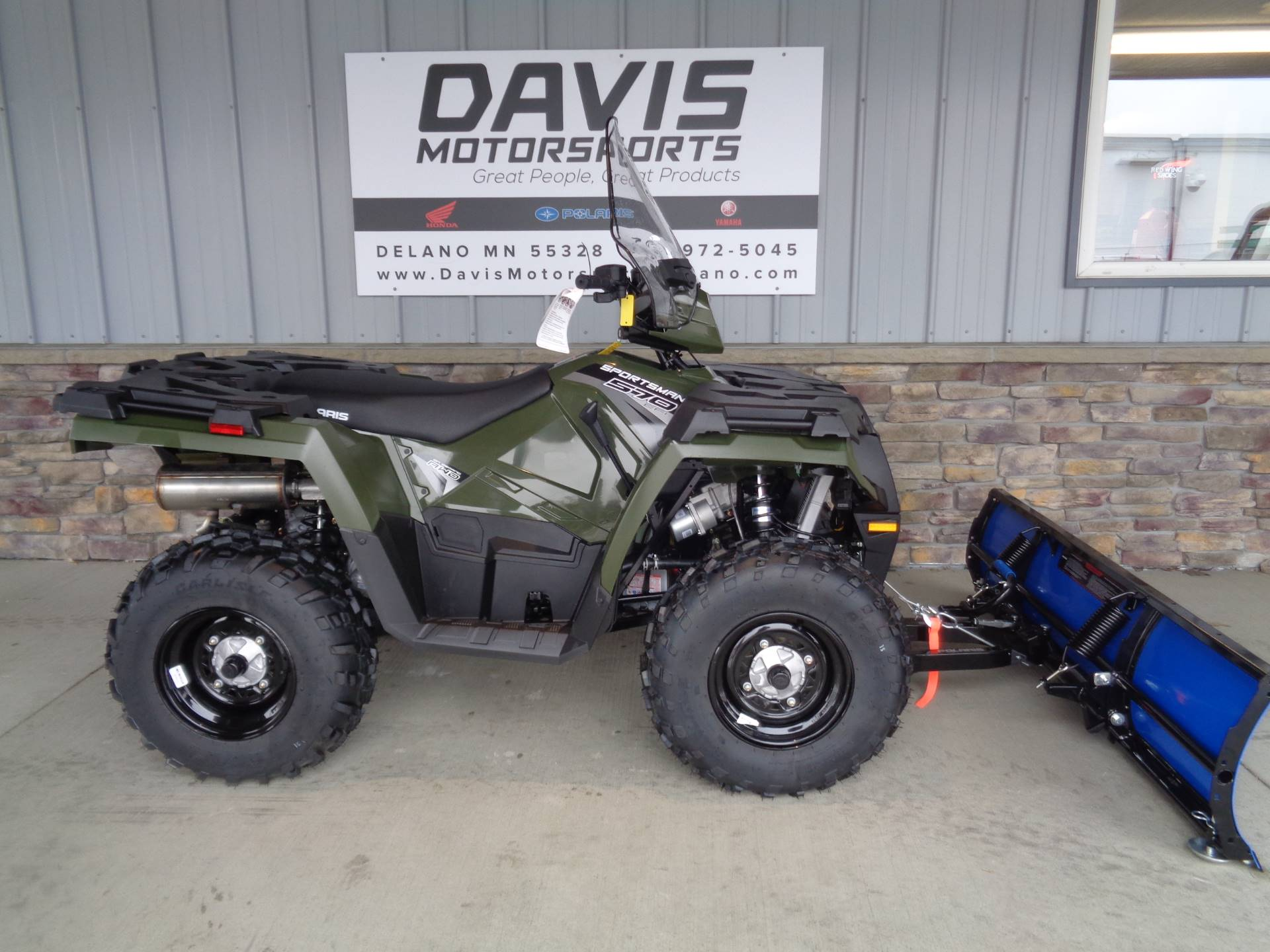 2019 Polaris Sportsman 570 EPS in Delano, Minnesota - Photo 1