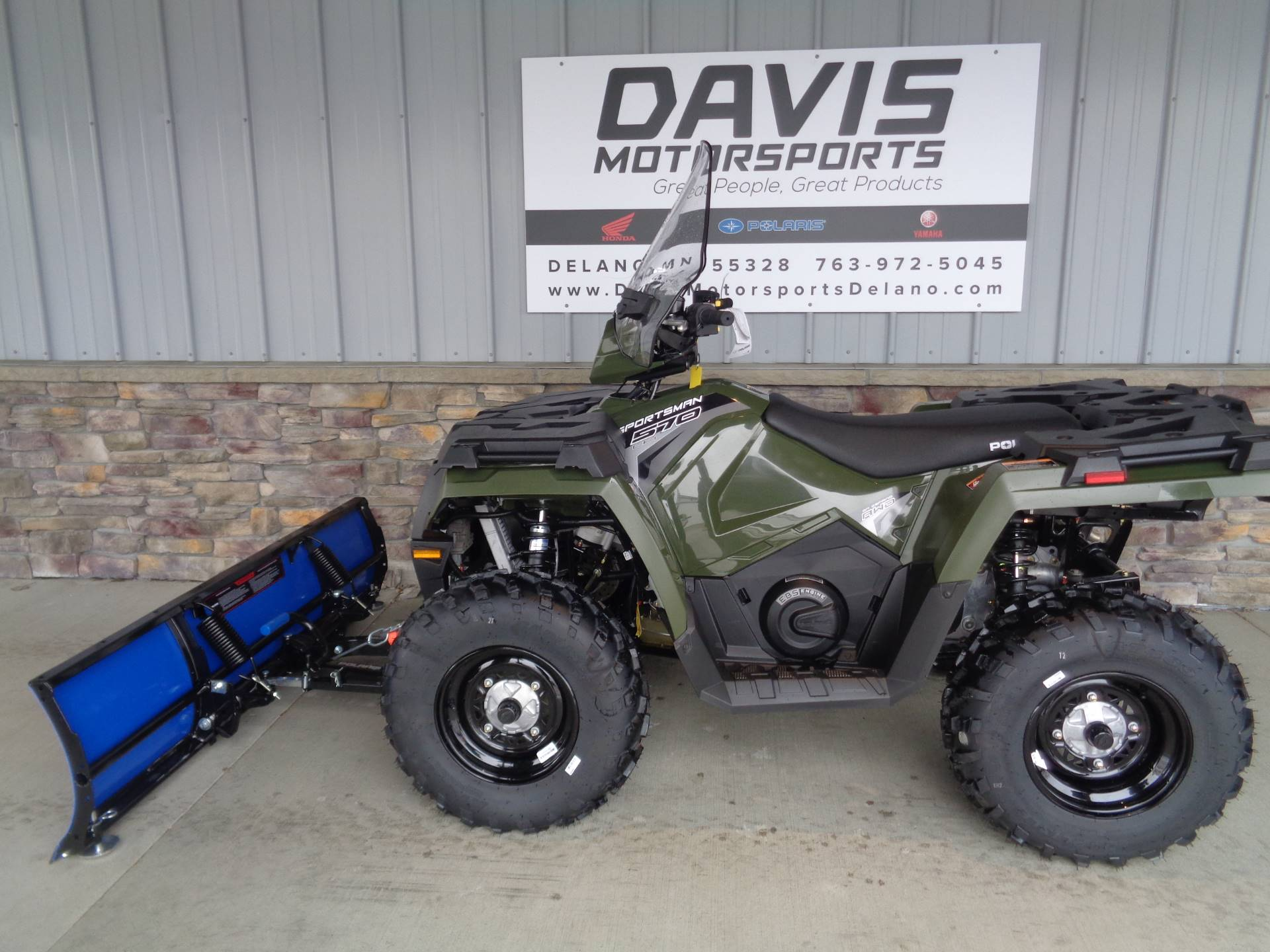 2019 Polaris Sportsman 570 EPS in Delano, Minnesota - Photo 2
