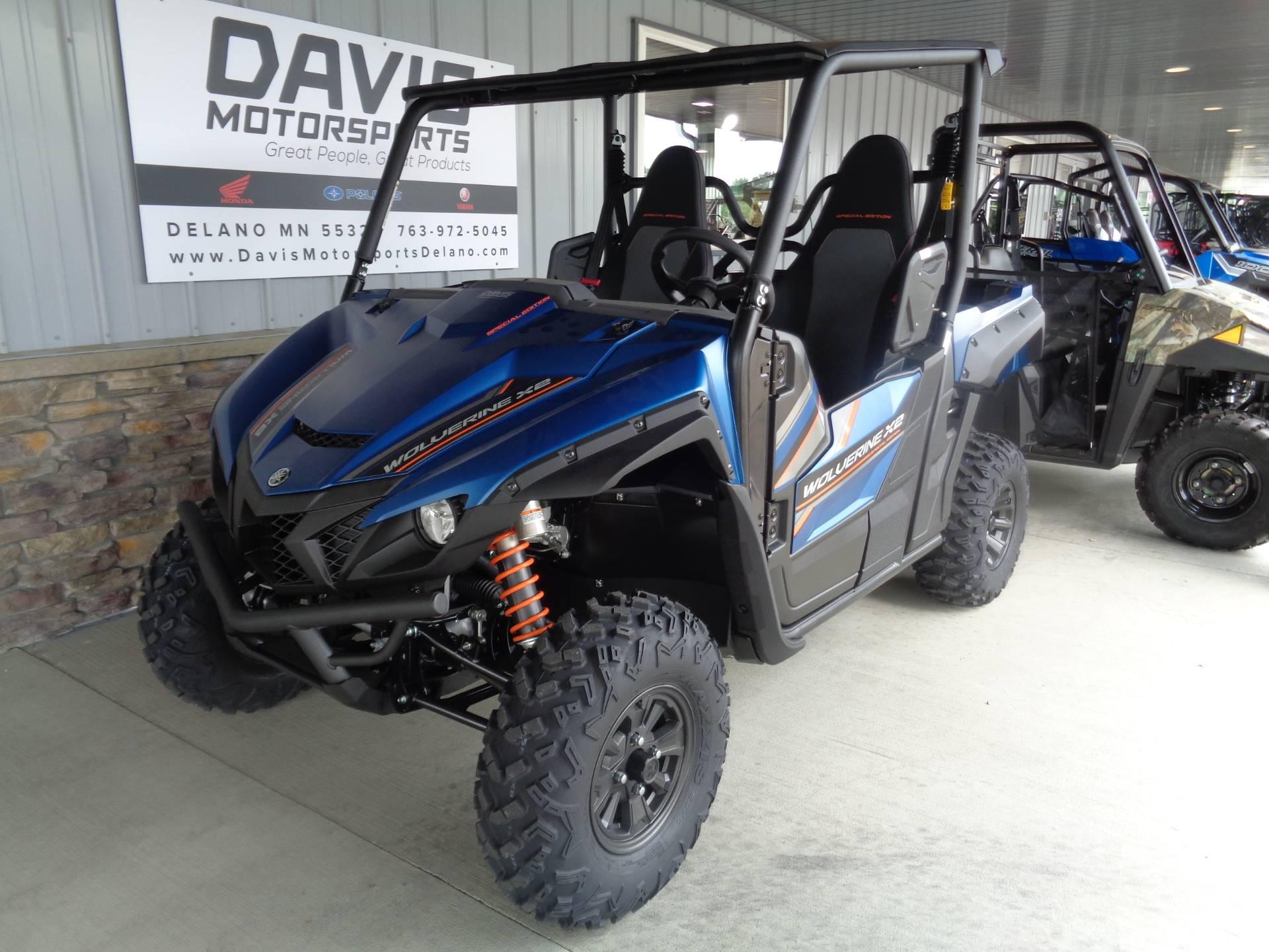 2019 Yamaha Wolverine X2 R-Spec SE in Delano, Minnesota
