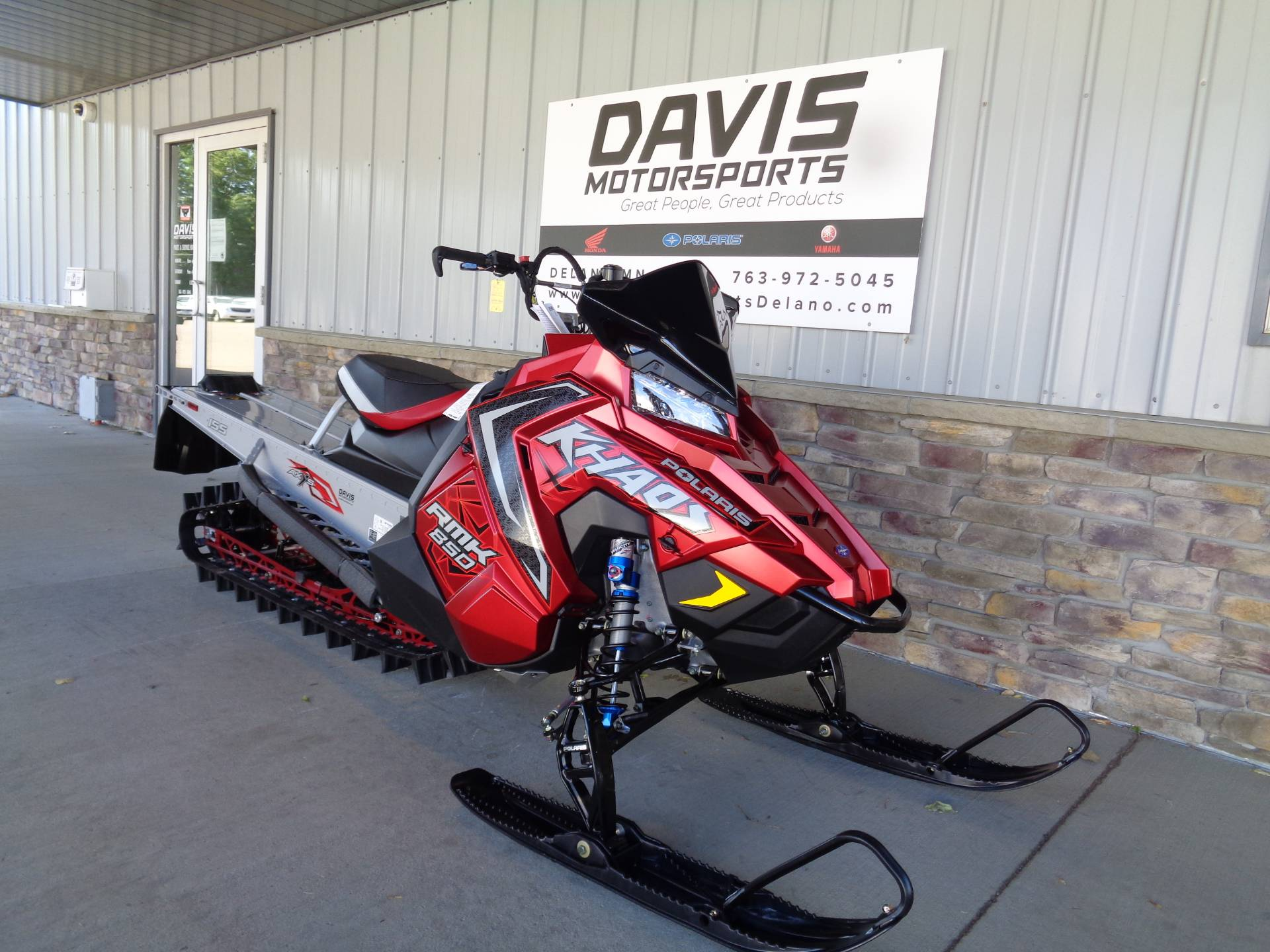 2021 Polaris 850 RMK KHAOS 155 3 in. Factory Choice in Delano, Minnesota - Photo 3
