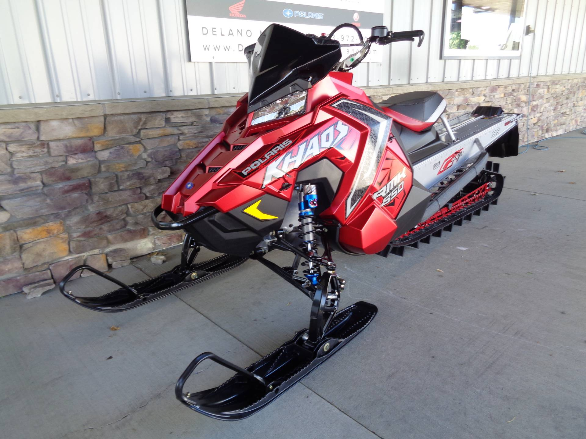 2021 Polaris 850 RMK KHAOS 155 3 in. Factory Choice in Delano, Minnesota - Photo 4