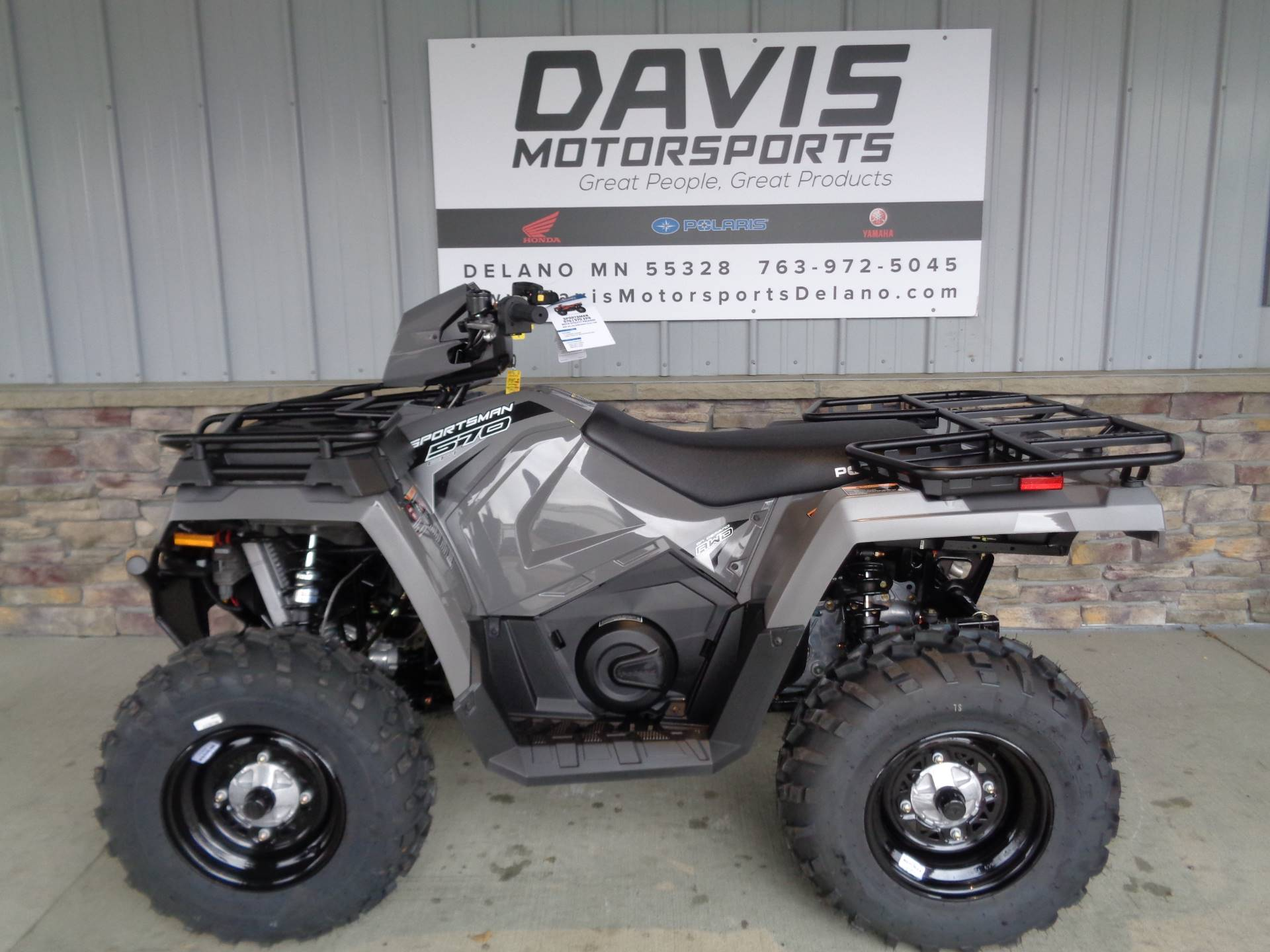 2020 Polaris Sportsman 570 Utility Package in Delano, Minnesota - Photo 2