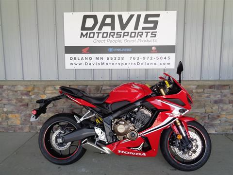 2019 Honda CBR650R in Delano, Minnesota - Photo 1