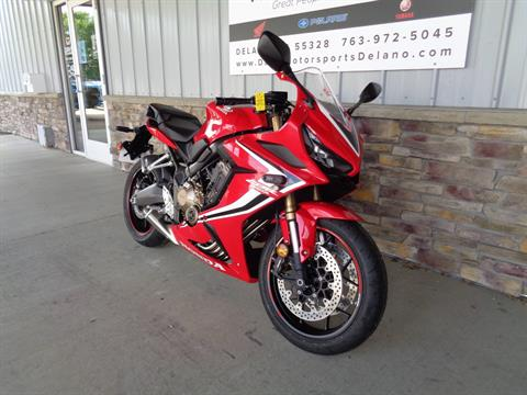 2019 Honda CBR650R in Delano, Minnesota - Photo 3