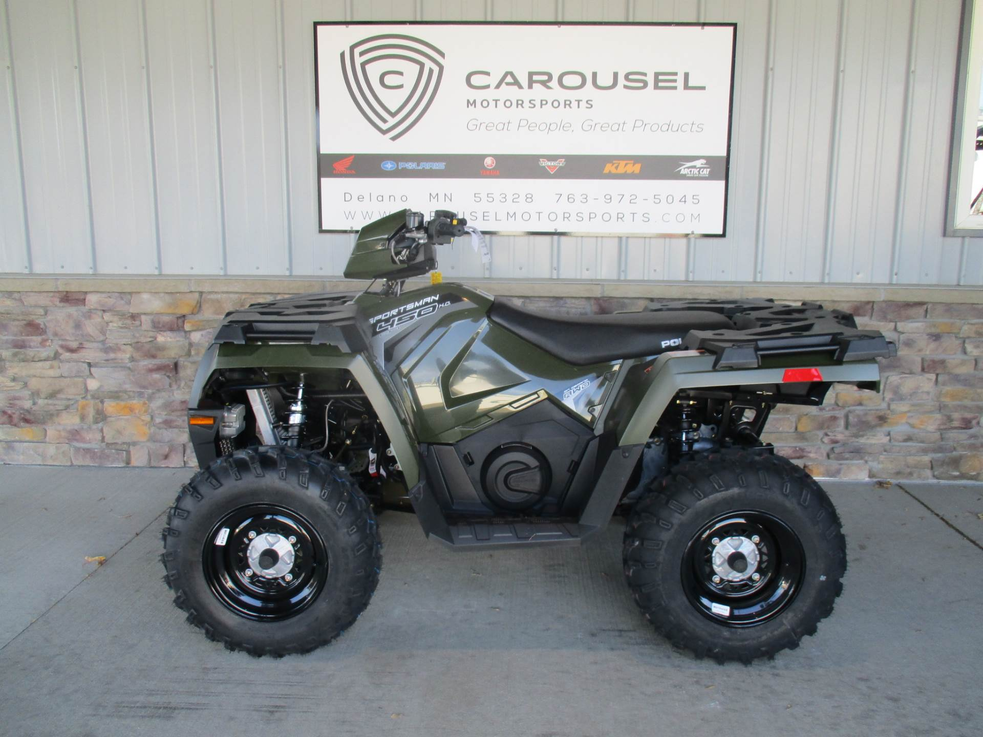 2018 Polaris Sportsman 450 H.O. in Delano, Minnesota