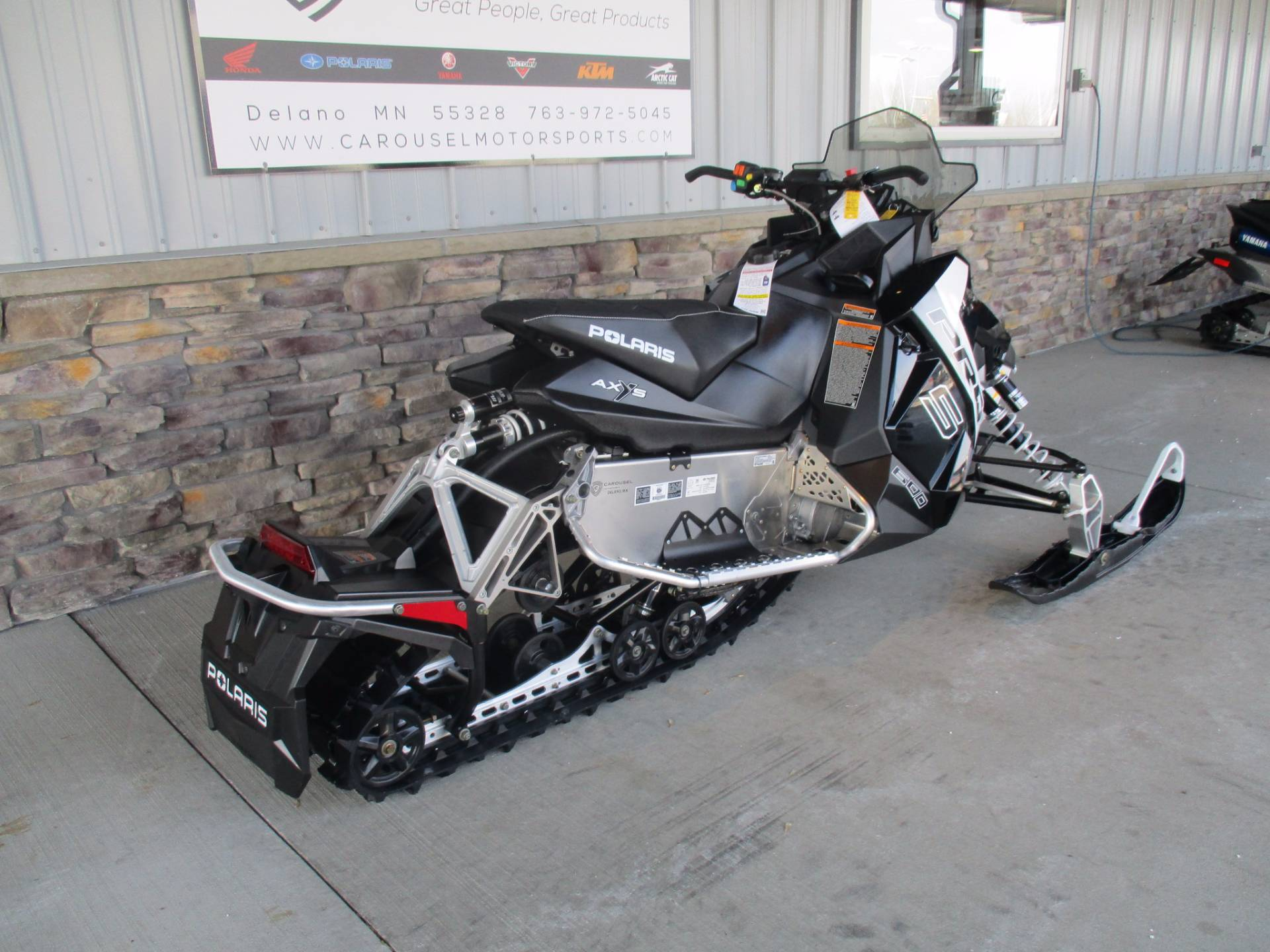 2017 Polaris 600 RUSH PRO-S in Delano, Minnesota