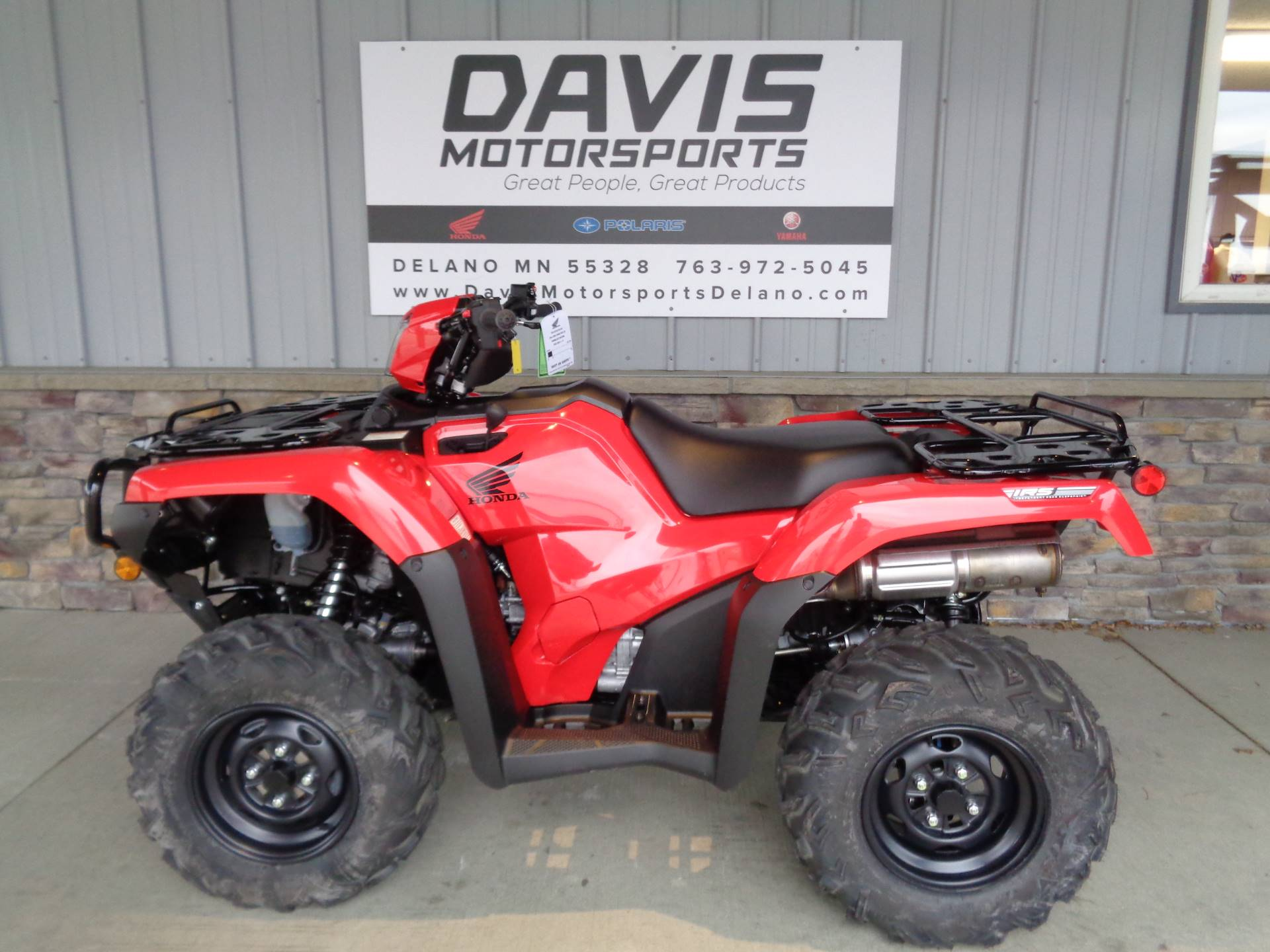 2020 Honda FourTrax Foreman Rubicon 4x4 Automatic DCT EPS in Delano, Minnesota - Photo 2
