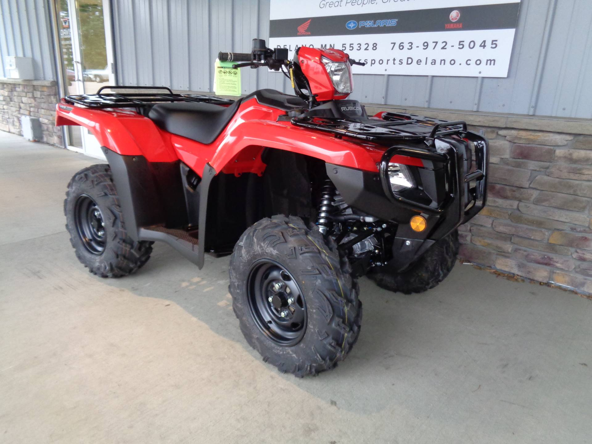 2020 Honda FourTrax Foreman Rubicon 4x4 Automatic DCT EPS in Delano, Minnesota - Photo 3