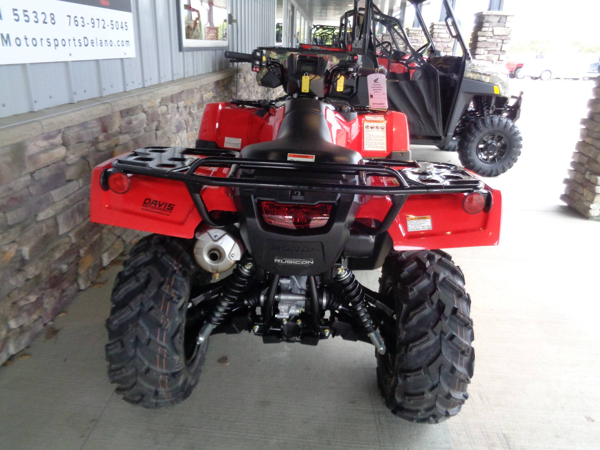 2020 Honda FourTrax Foreman Rubicon 4x4 Automatic DCT EPS in Delano, Minnesota - Photo 8